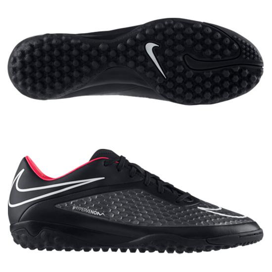 Nike Hypervenom Phelon Astroturf - Kids Black