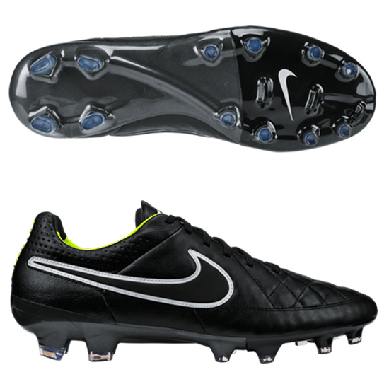 Nike Tiempo Legacy Firm Ground Football Boot Black