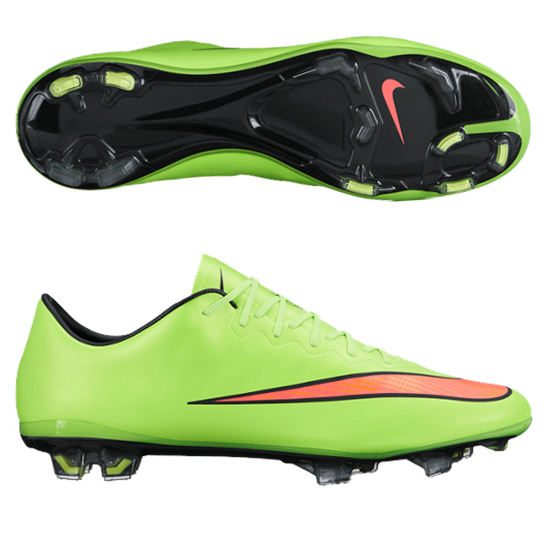 Nike Mercurial Vapor X Firm Ground Football Boot Green