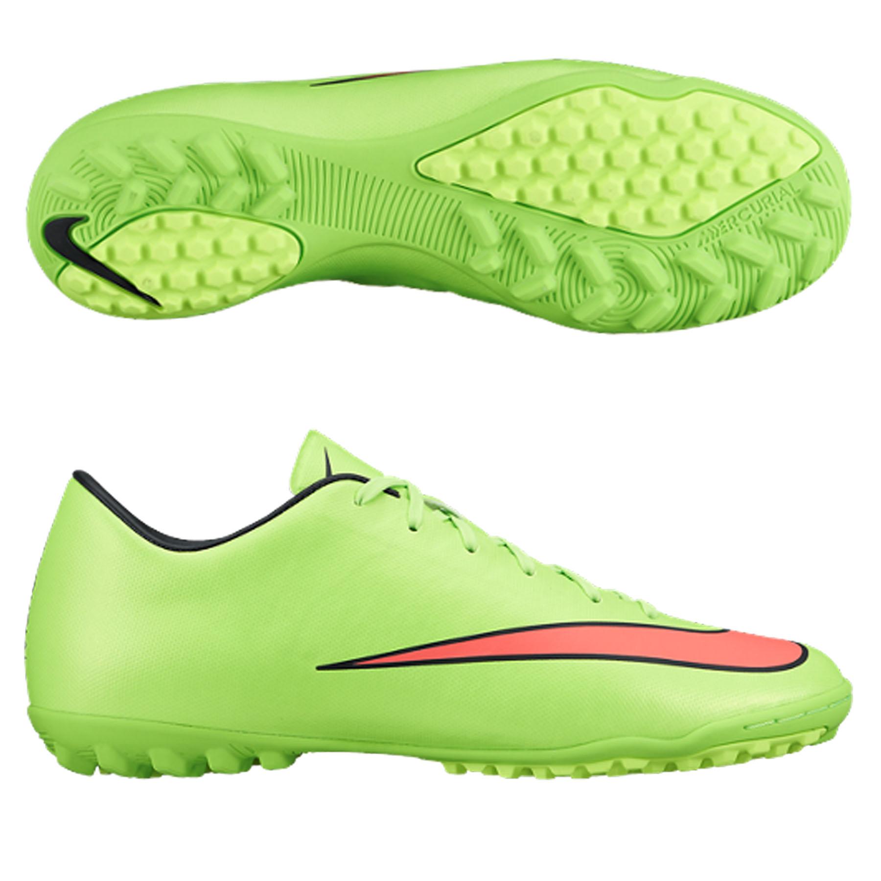 Nike Mercurial Victory V Astroturf  Kids Green