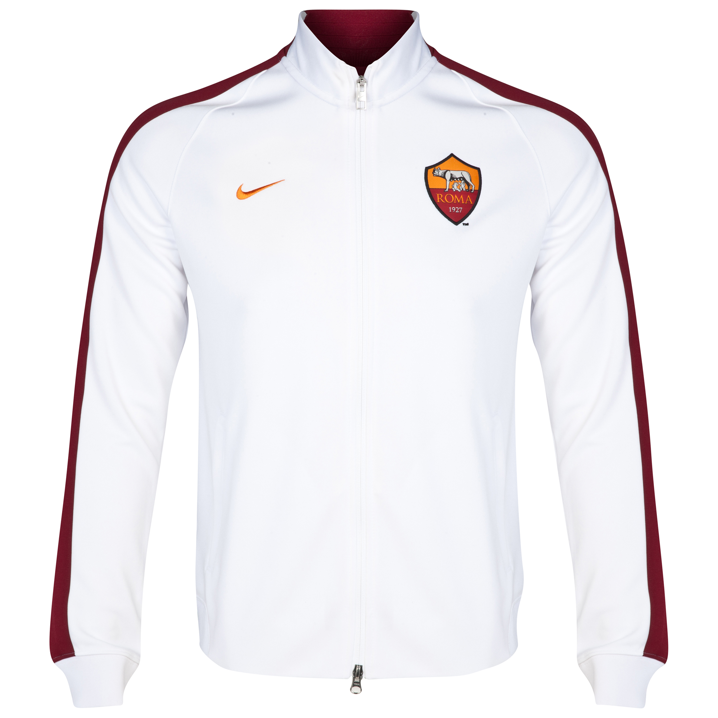 AS Roma Authentic N98 Jacket White