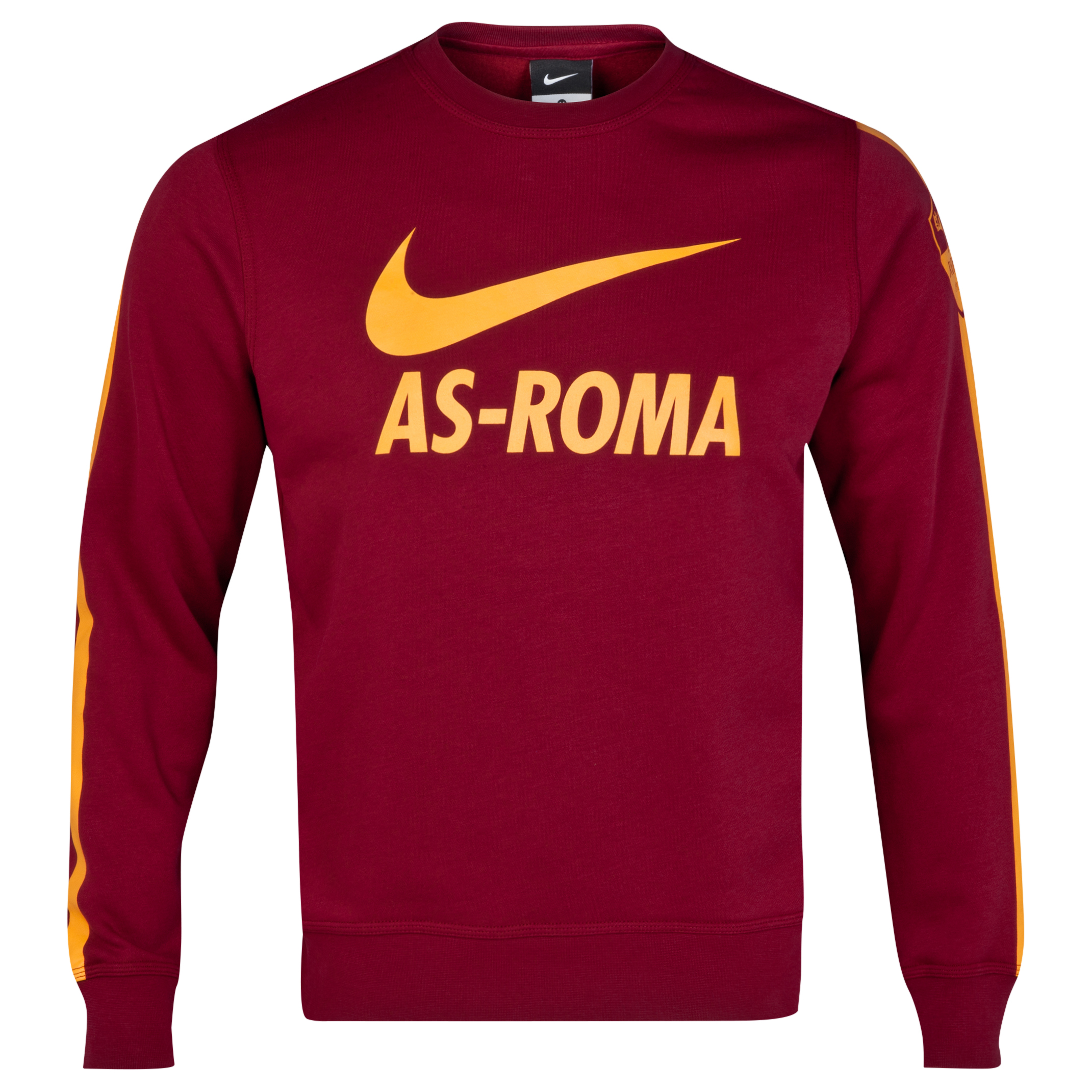 AS Roma Core Crew Sweatshirt Red