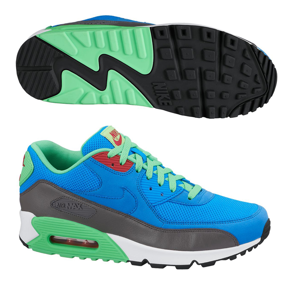 Nike Air Max 90 Essential Trainers Blue