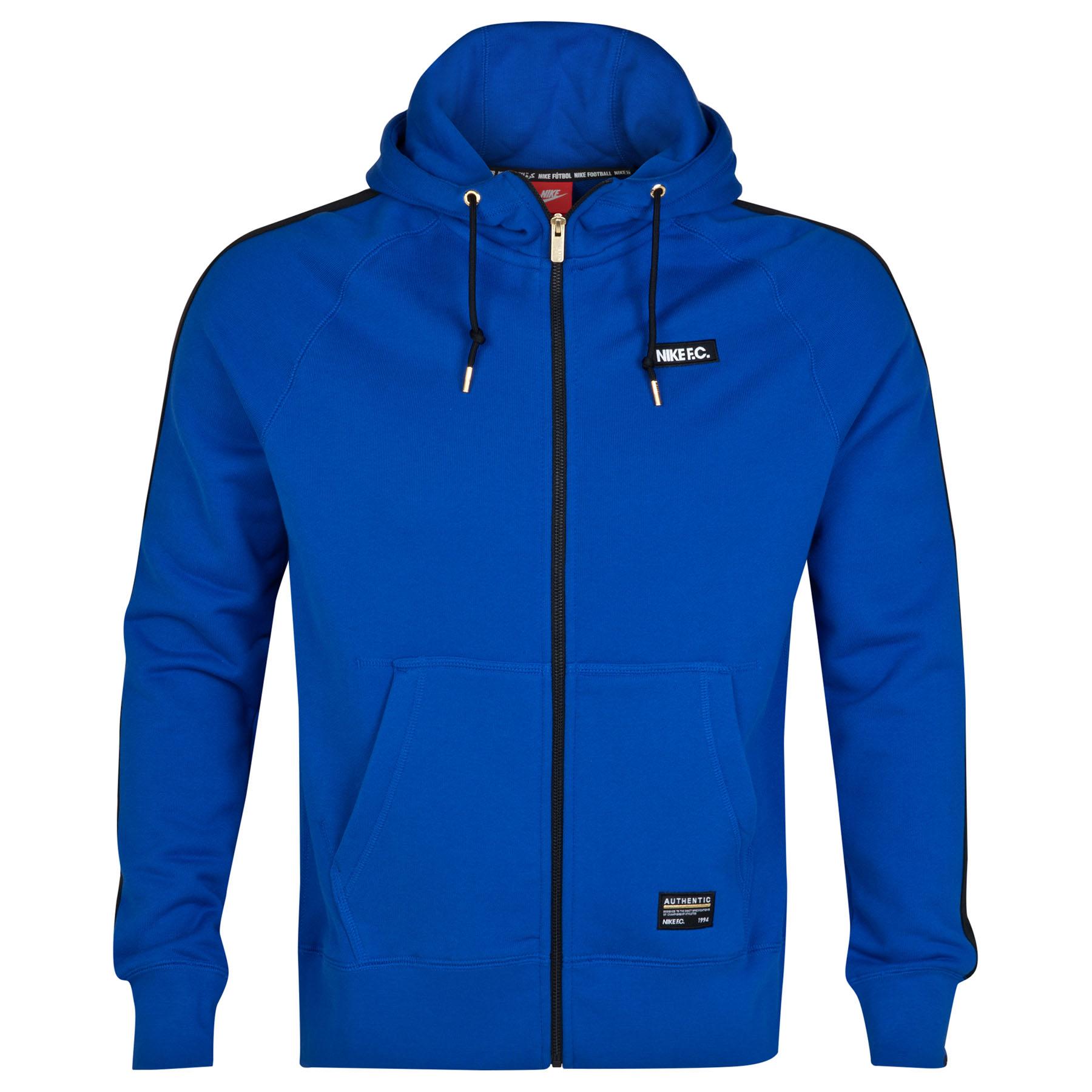 Manchester City AW77 Full Zip Hoody Royal Blue
