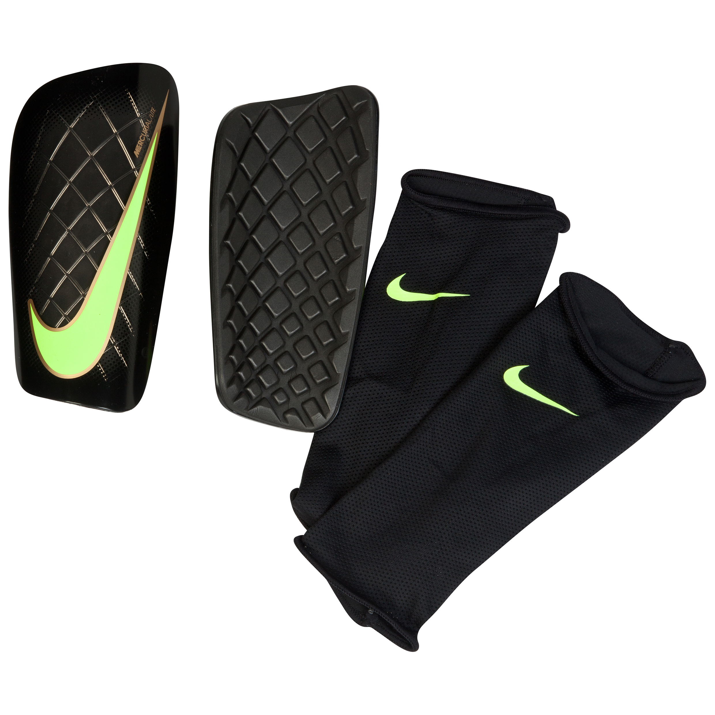 Nike Mercurial Lite Shinguards Black