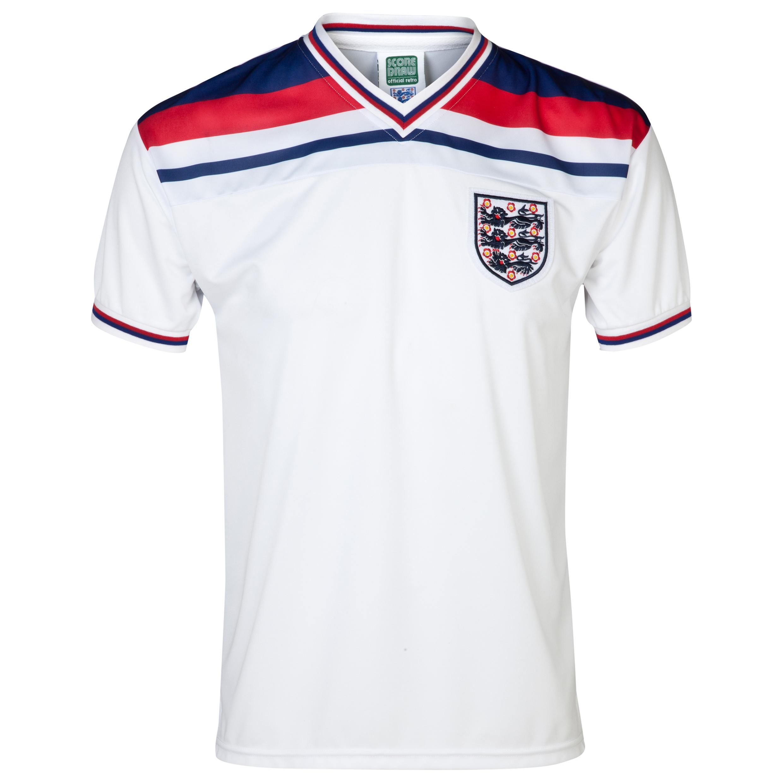 England 1982 World Cup Finals Shirt