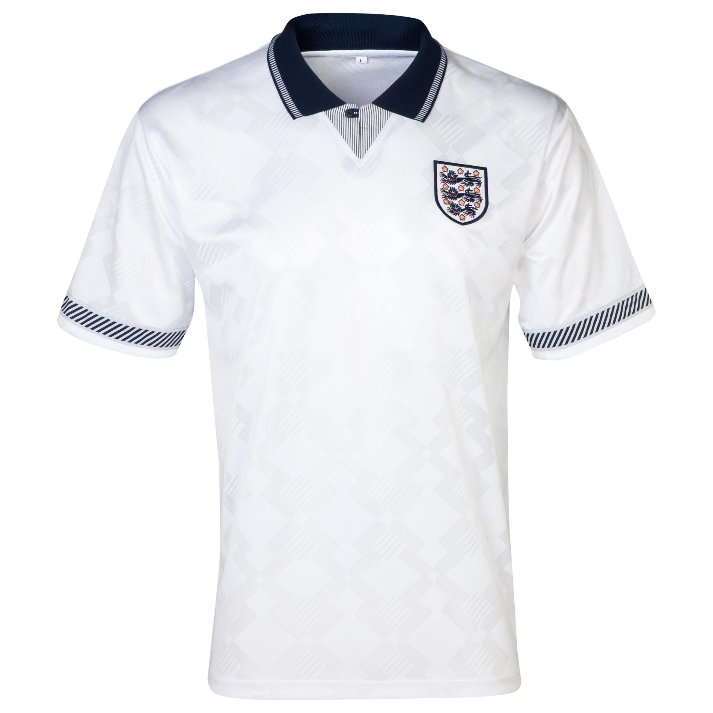 England 1990 World Cup Finals No19 Shirt