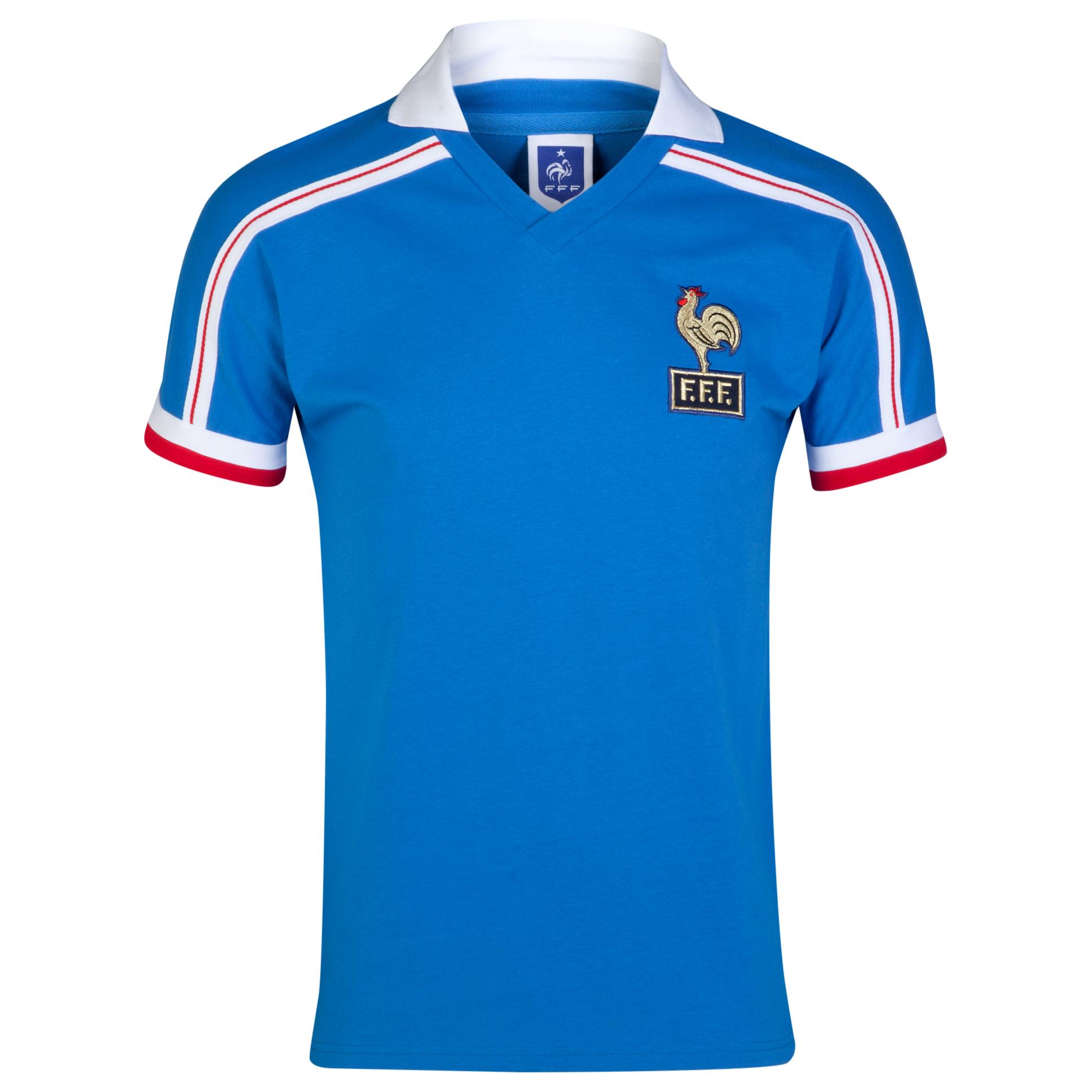 France 1986 World Cup Finals Shirt