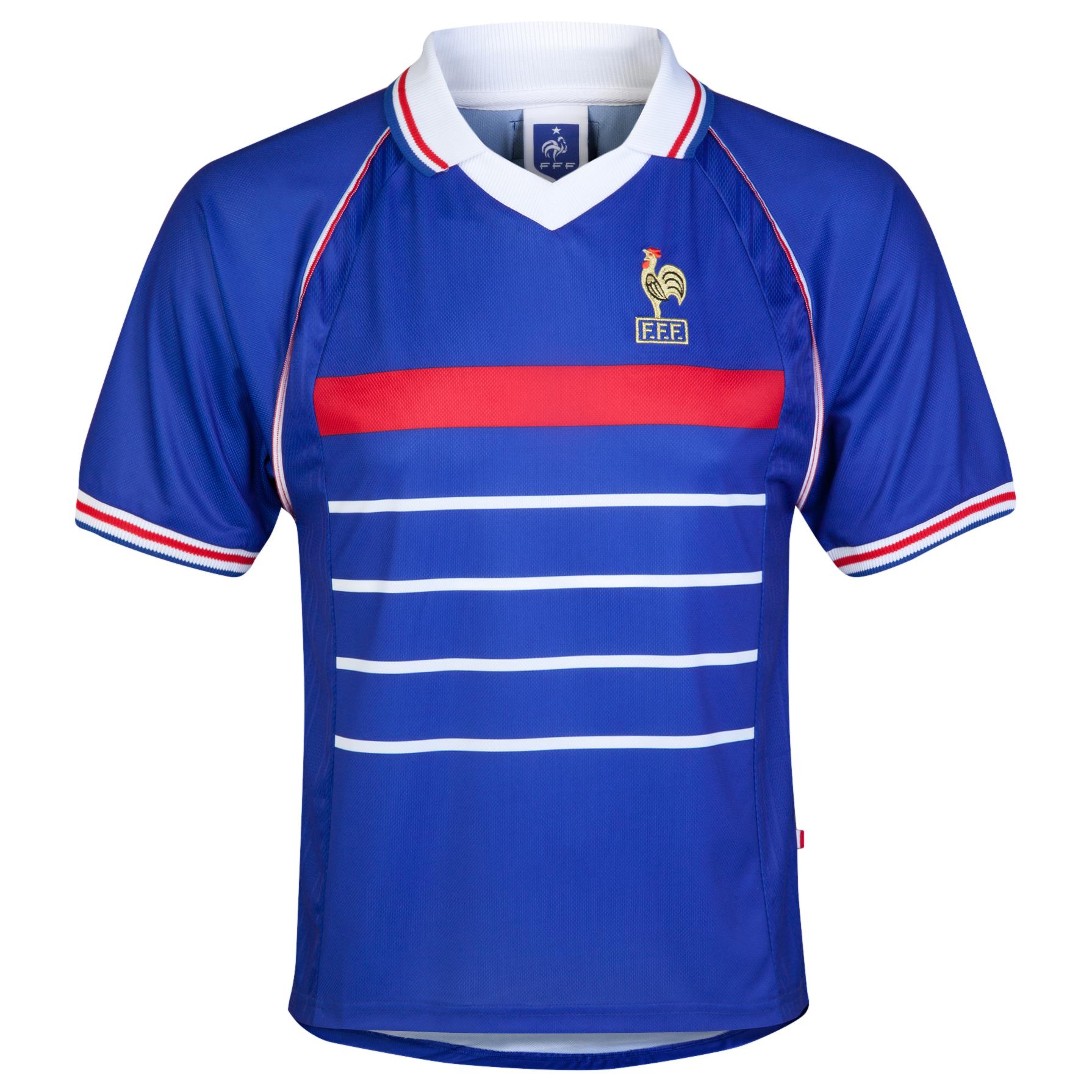 France 1998 World Cup Finals Shirt