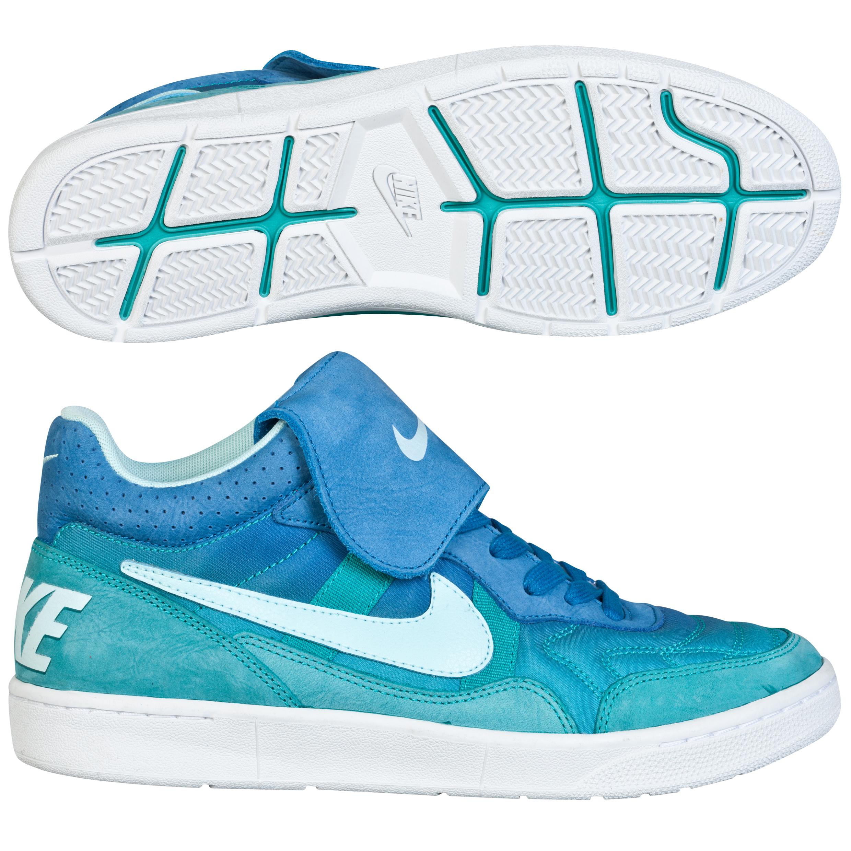 Nike Tiempo 94 Mid Txt Trainers Lt Blue
