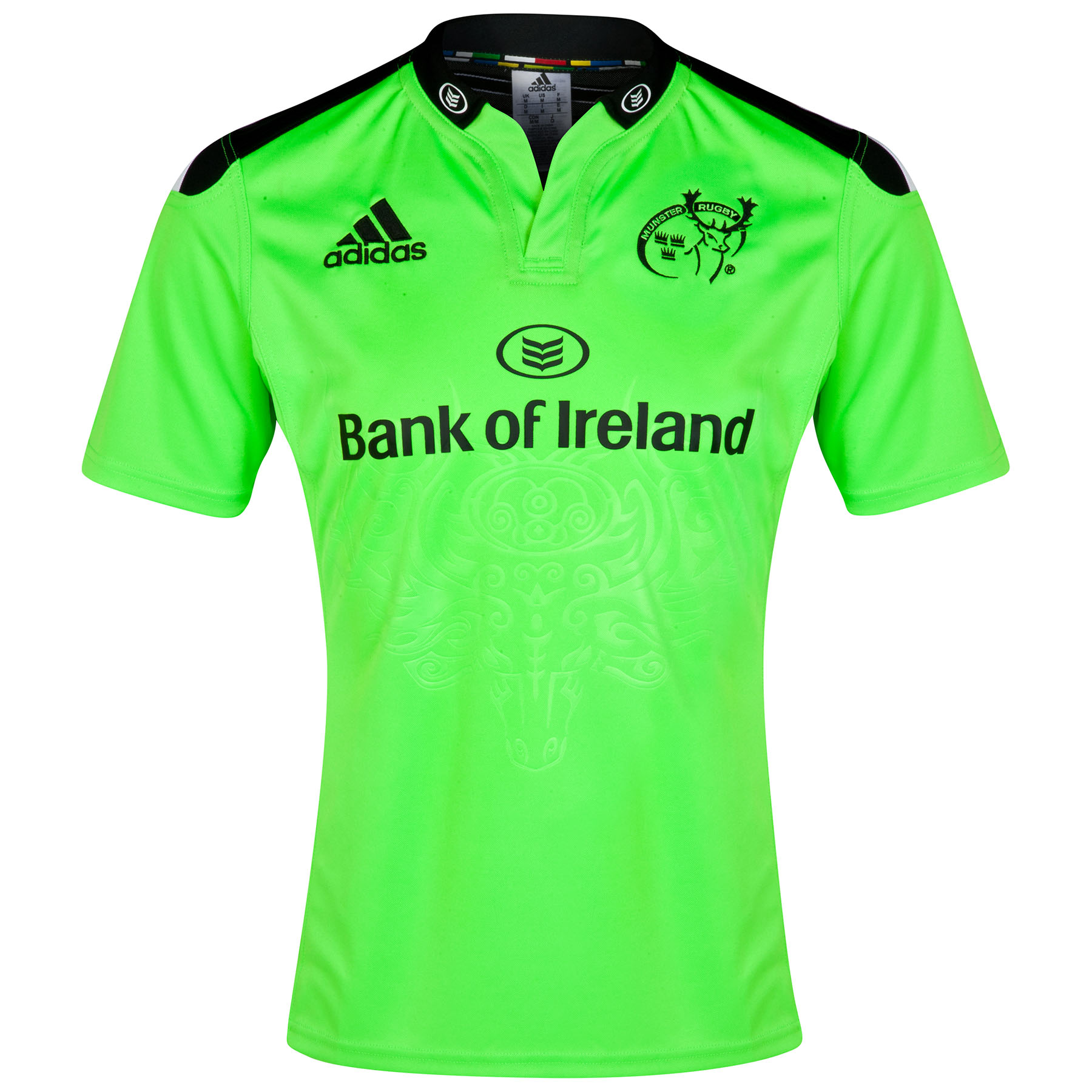 Munster Rugby Union Away Shirt 201415 Green