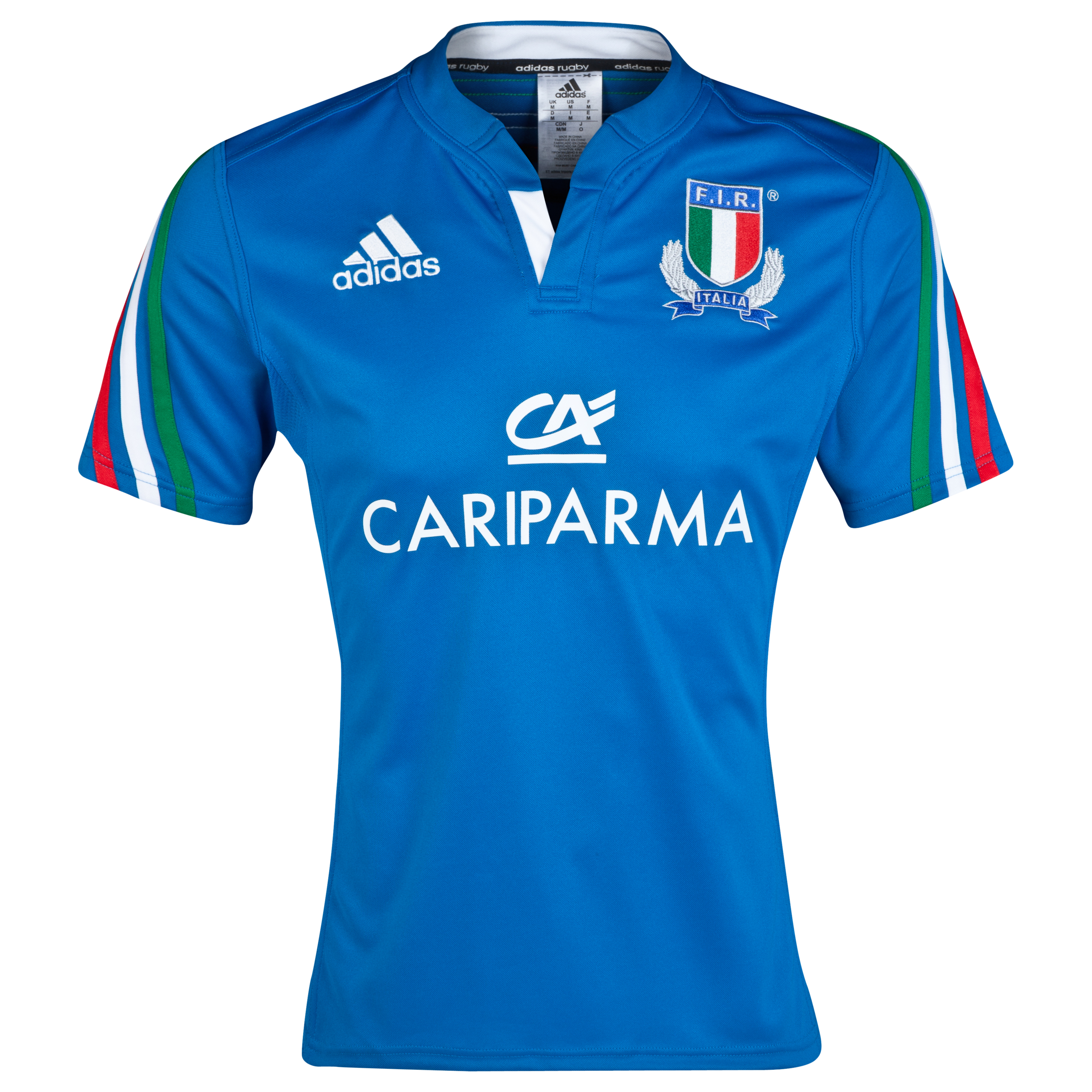 Italy Rugby Union Home Shirt 2014/15 Blue