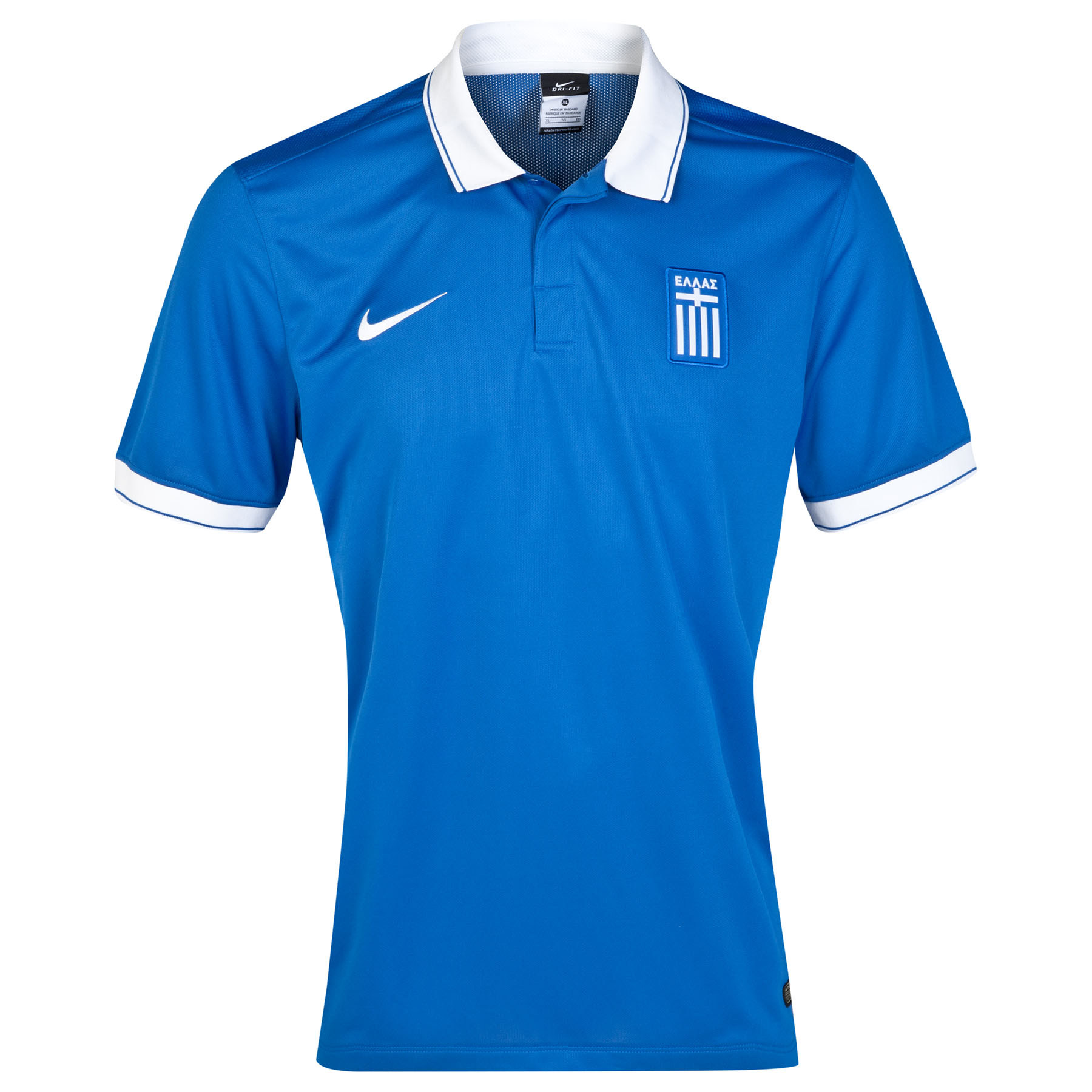 Greece Away Shirt 2014/15 Royal Blue