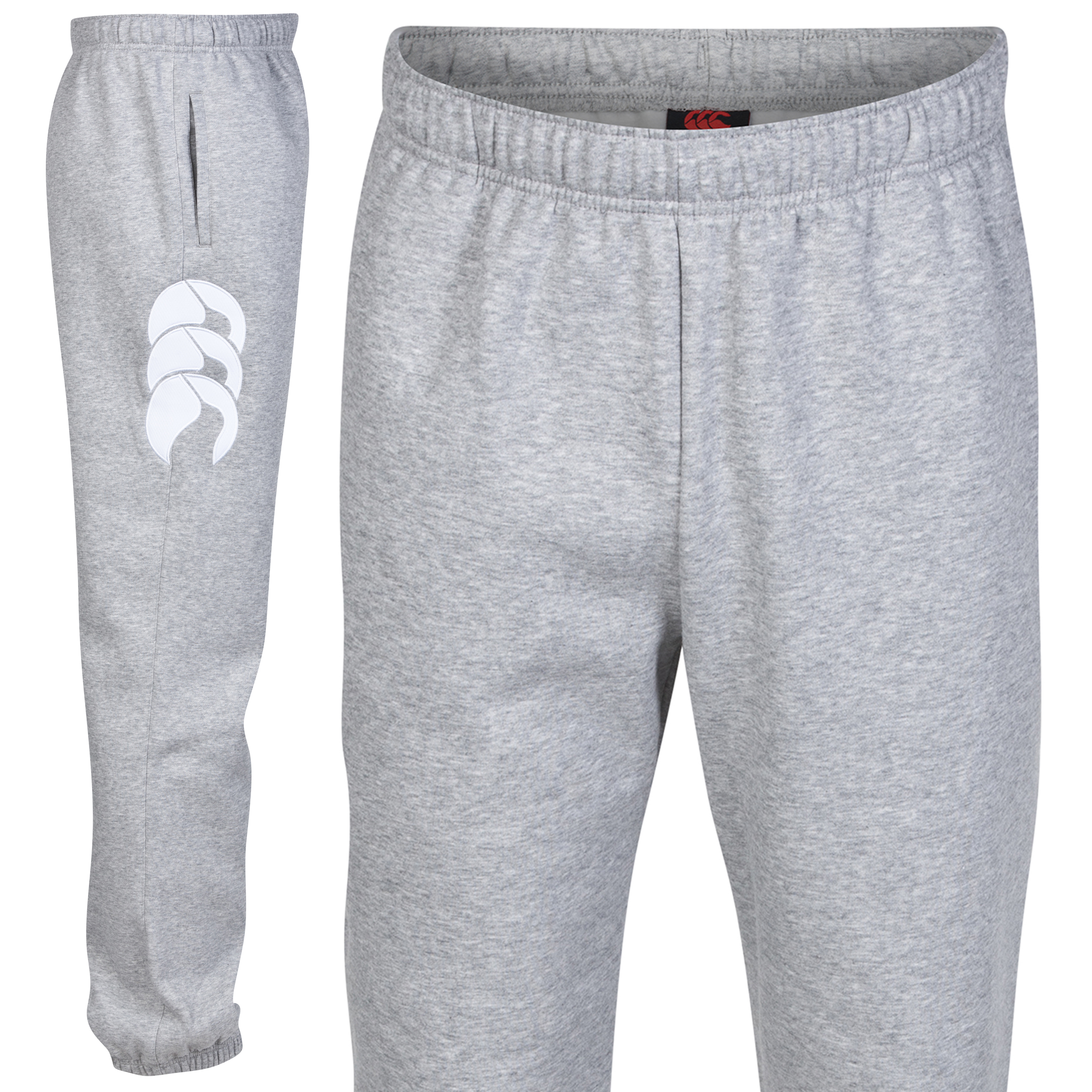 Canterbury Core Cuffed Sweat Pant Lt Grey