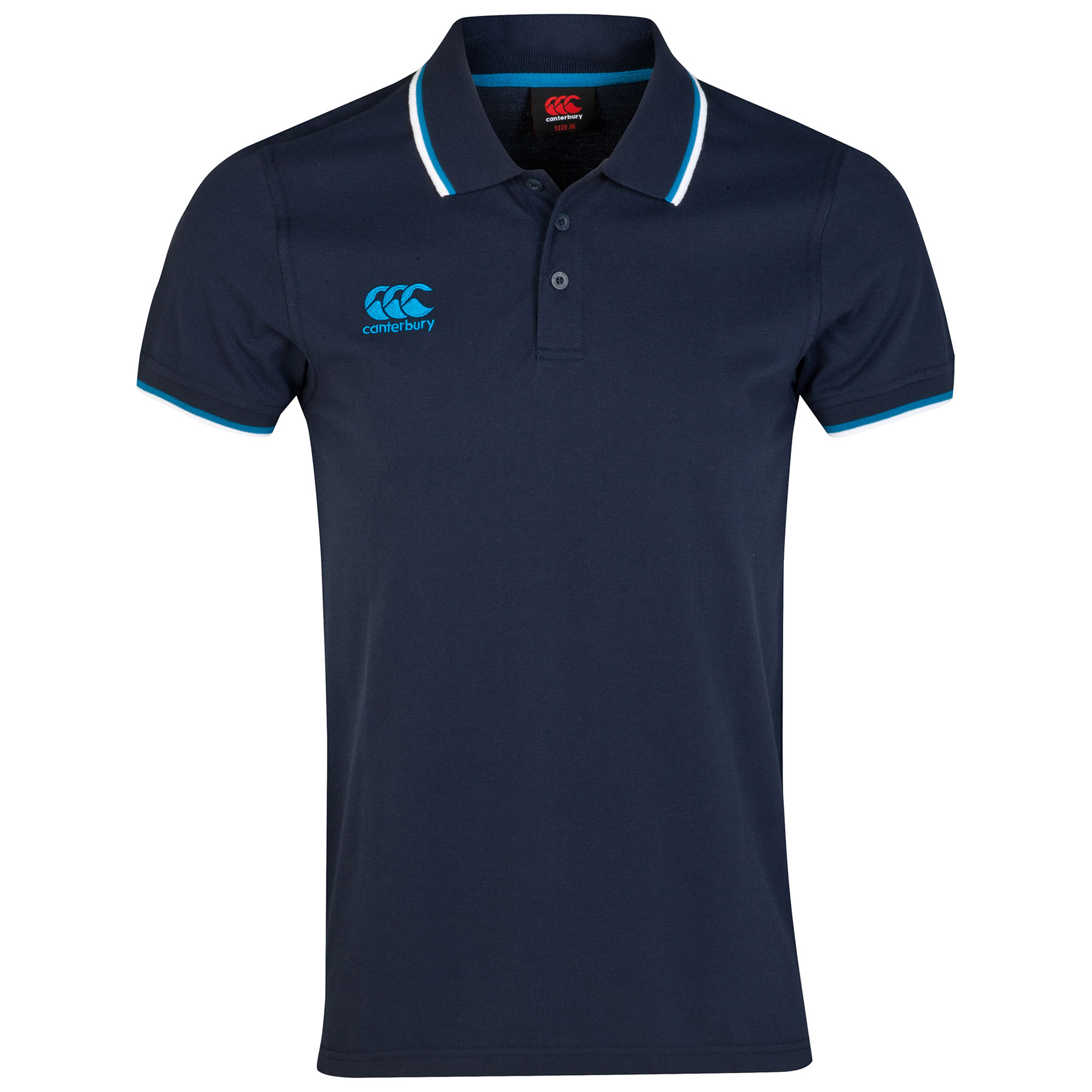 Canterbury Tipped Polo Shirt Navy