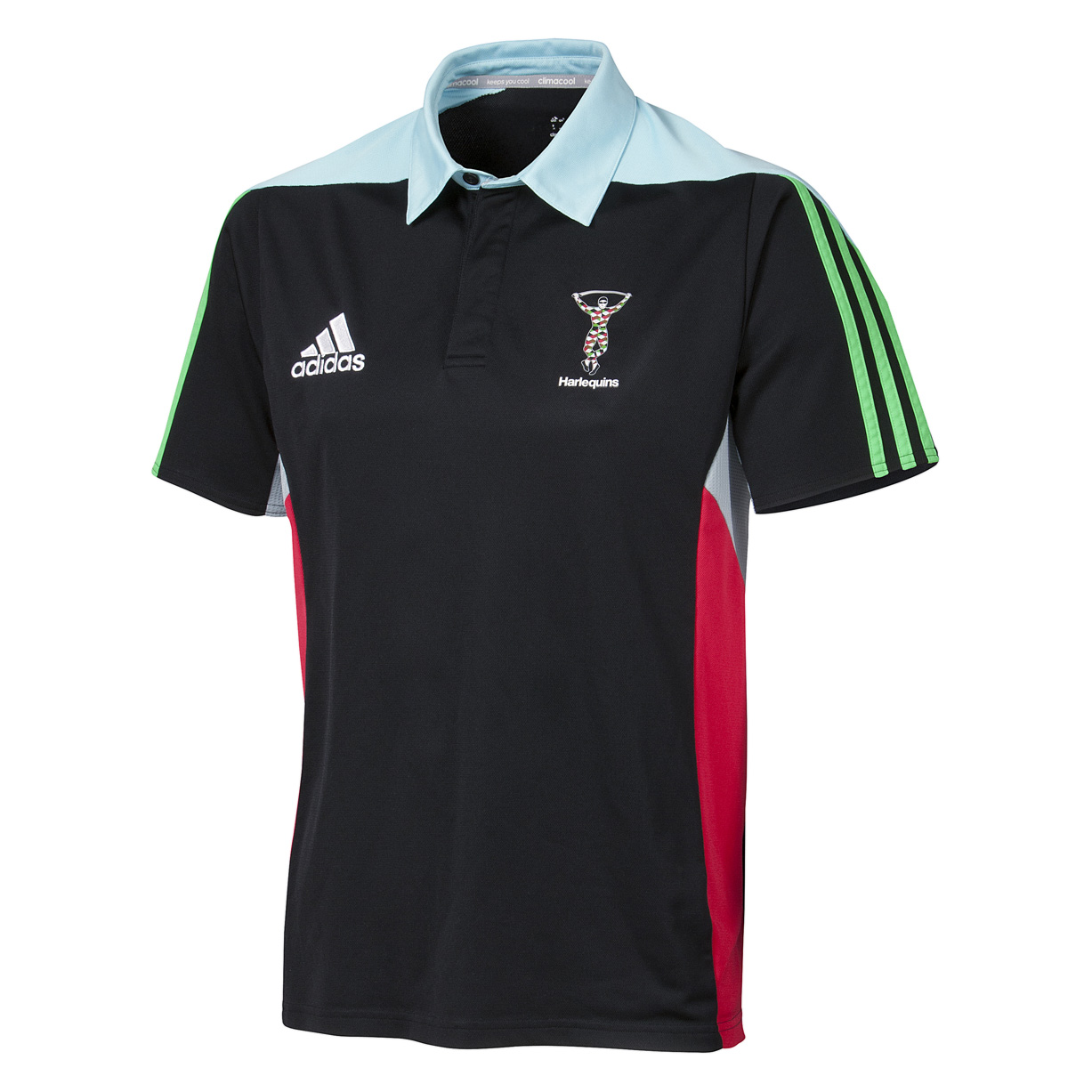 Harlequins Training Polo Black