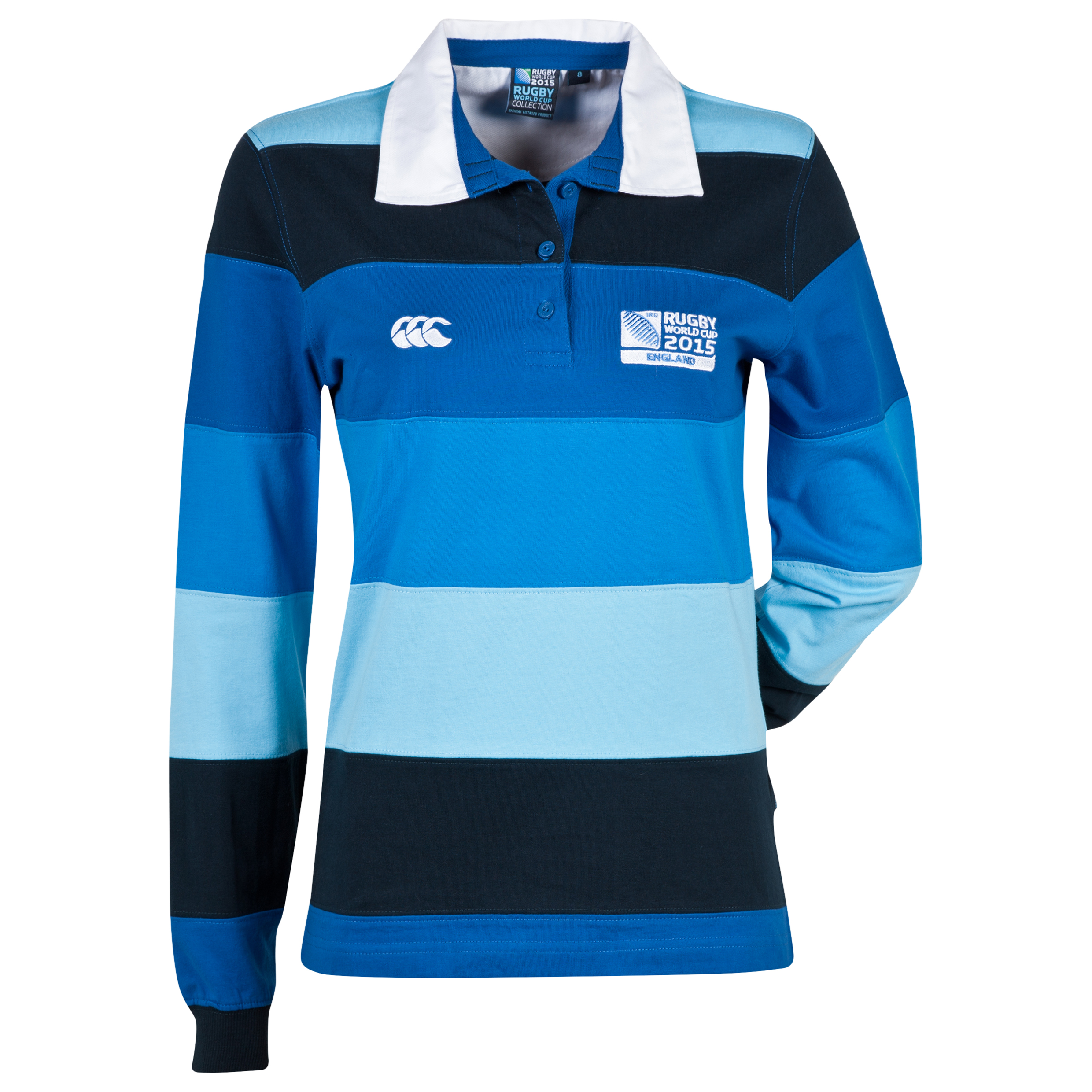 Canterbury Rugby World Cup Hooker Long Sleeve Rugby Top - Long Sleeve Navy
