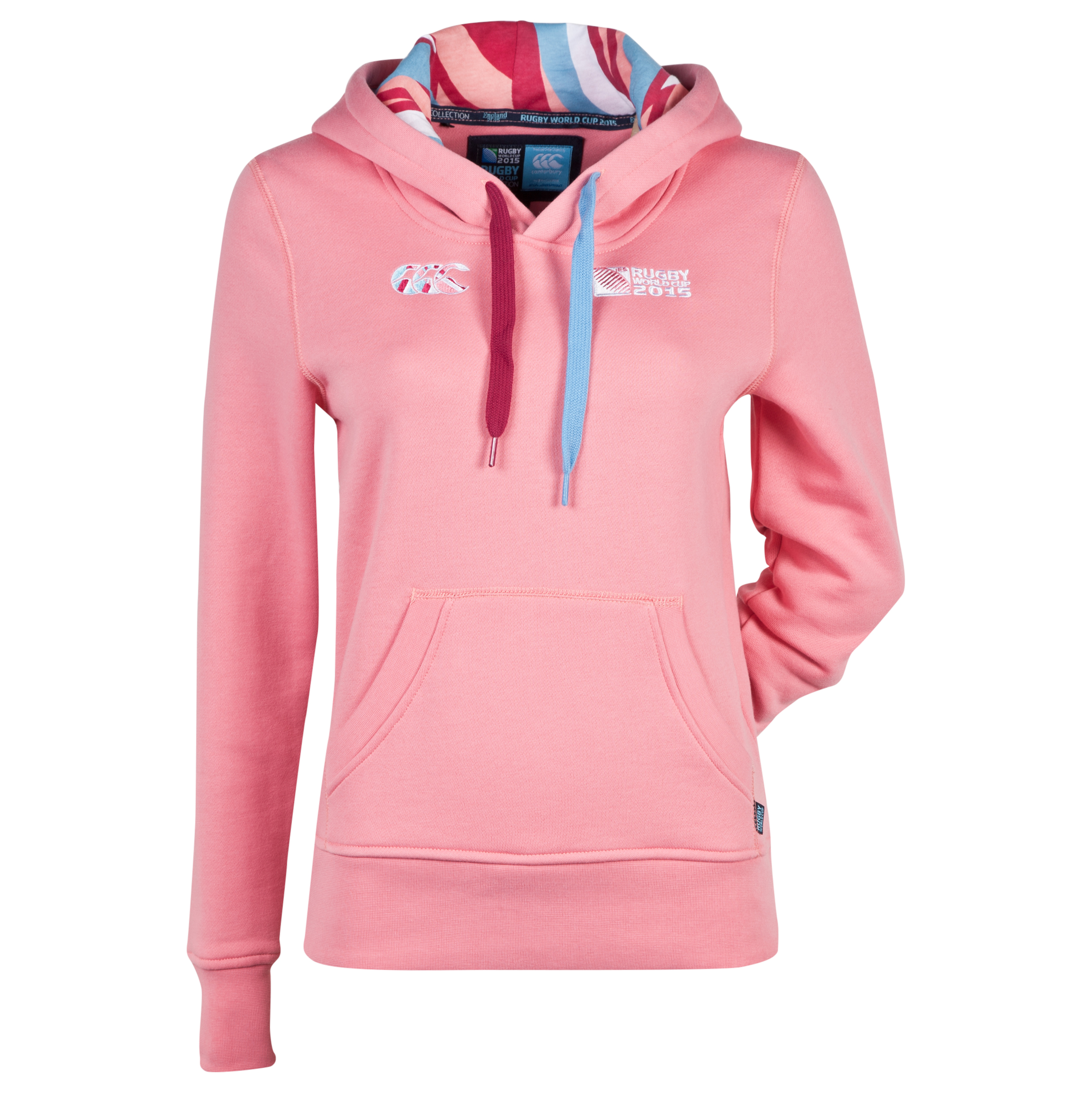 Canterbury Rugby World Cup Endurance Pullover Hoody - Womens Pink