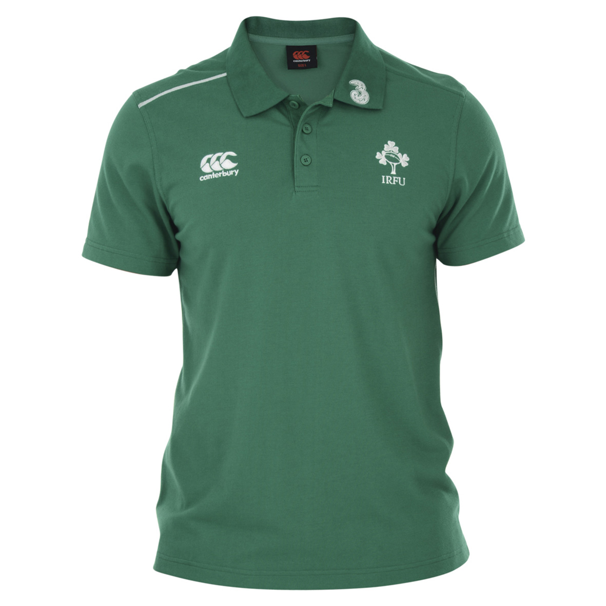 Ireland Cotton Training Polo Green