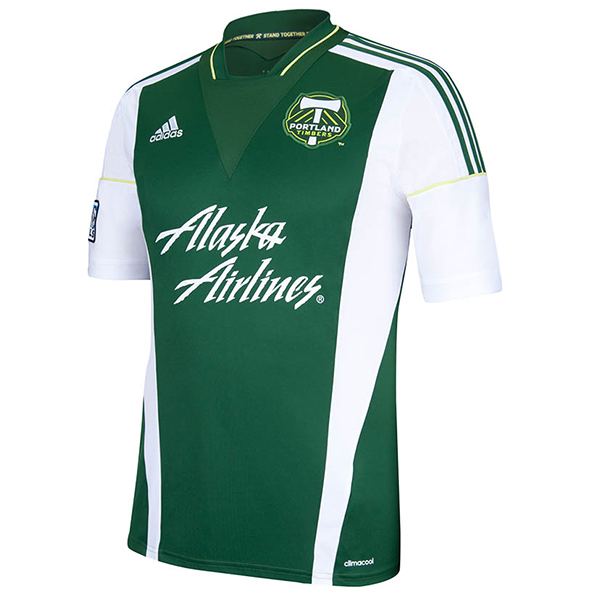 Portland Timbers Home Shirt 2013/14 Green
