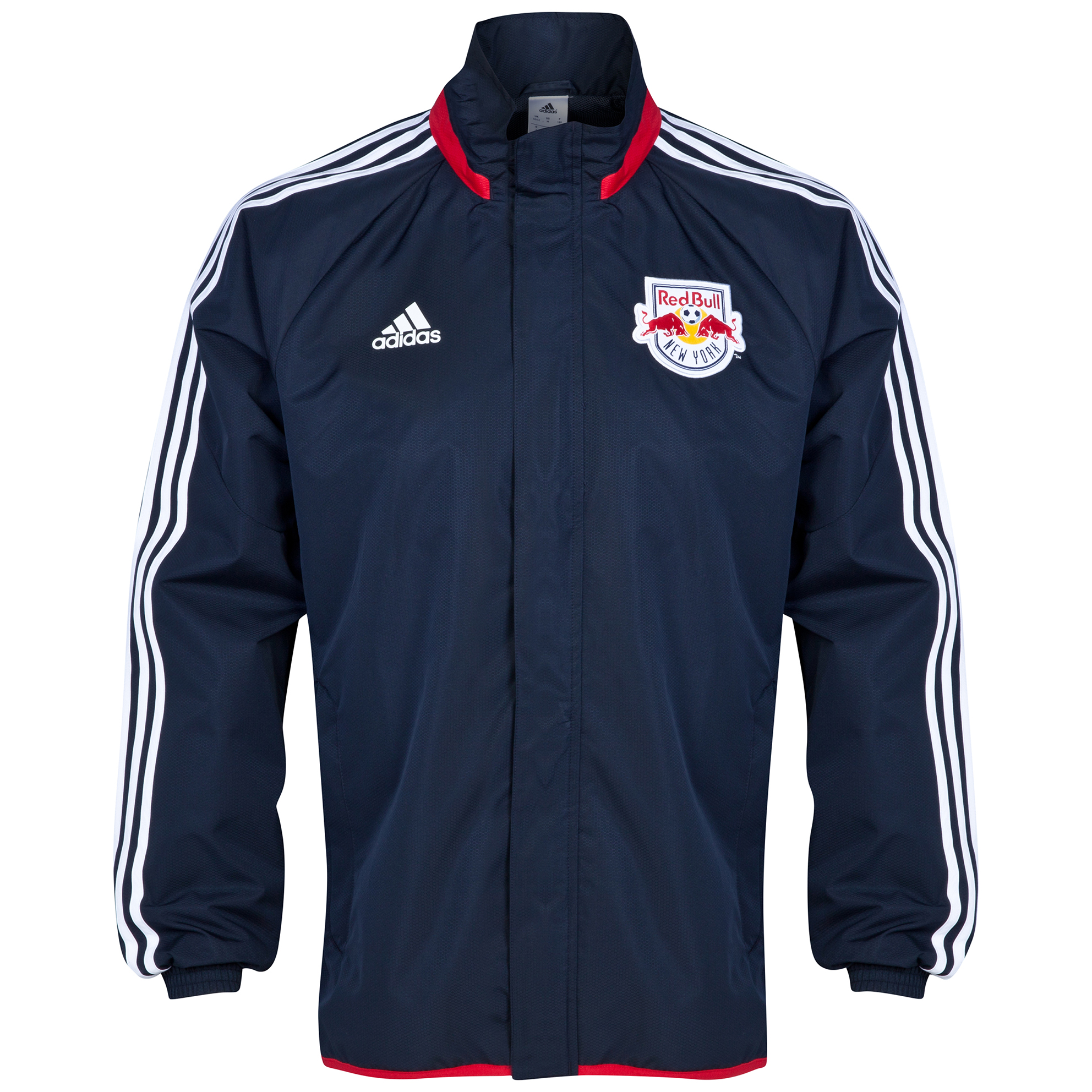 New York Red Bulls Rain Jacket Navy