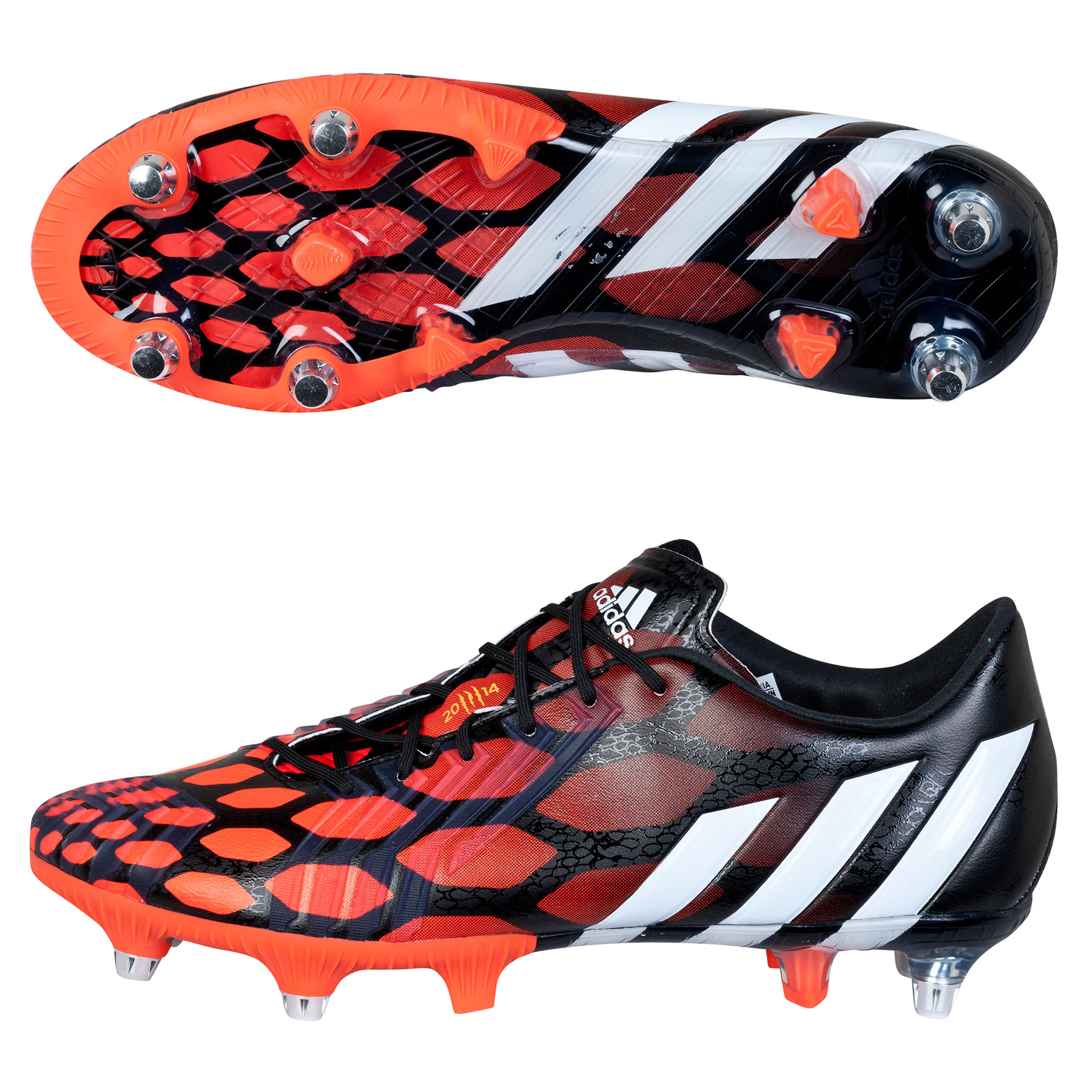 Adidas Predator LZ Soft Ground Football Boots Black
