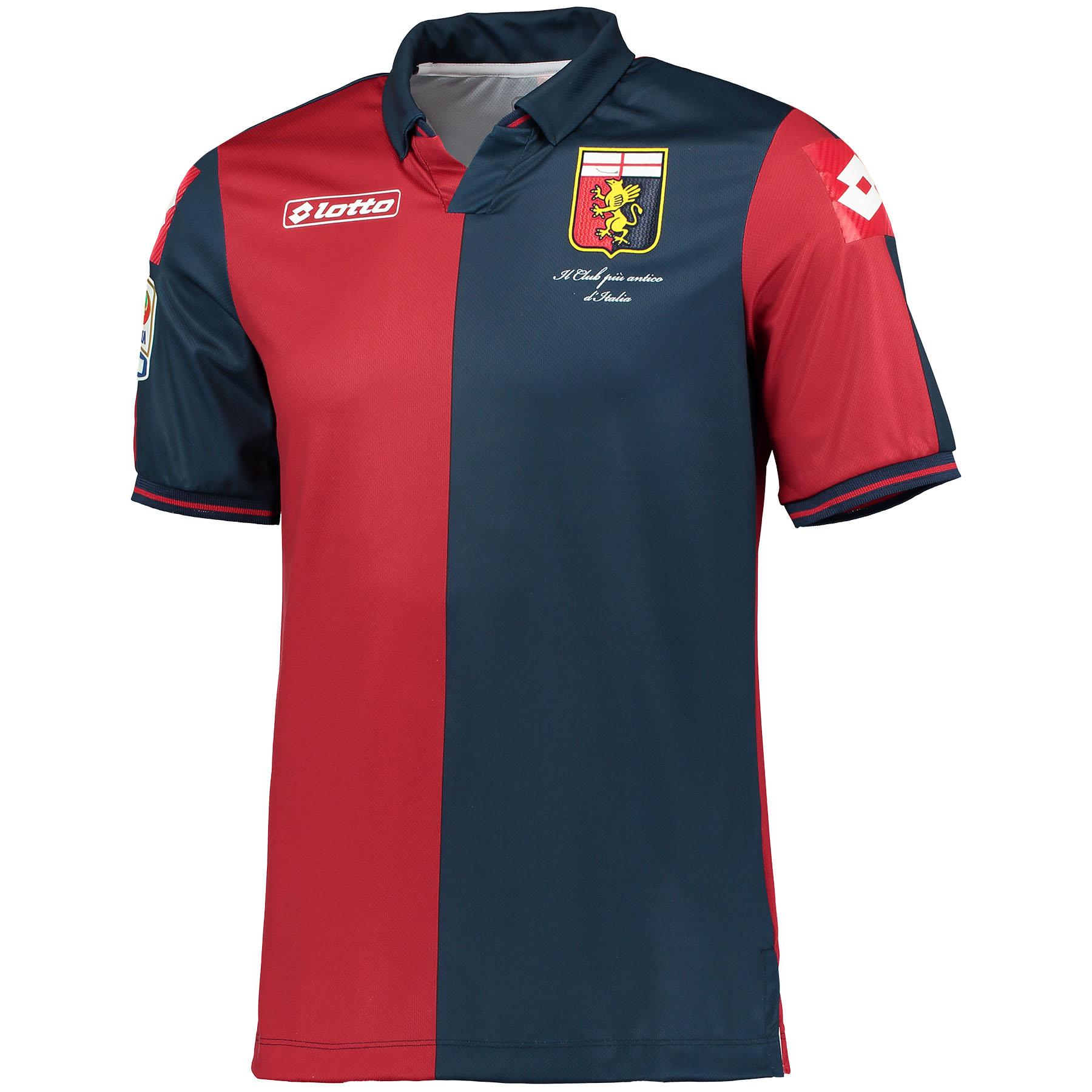 Genoa Home Shirt 2014/15 Red