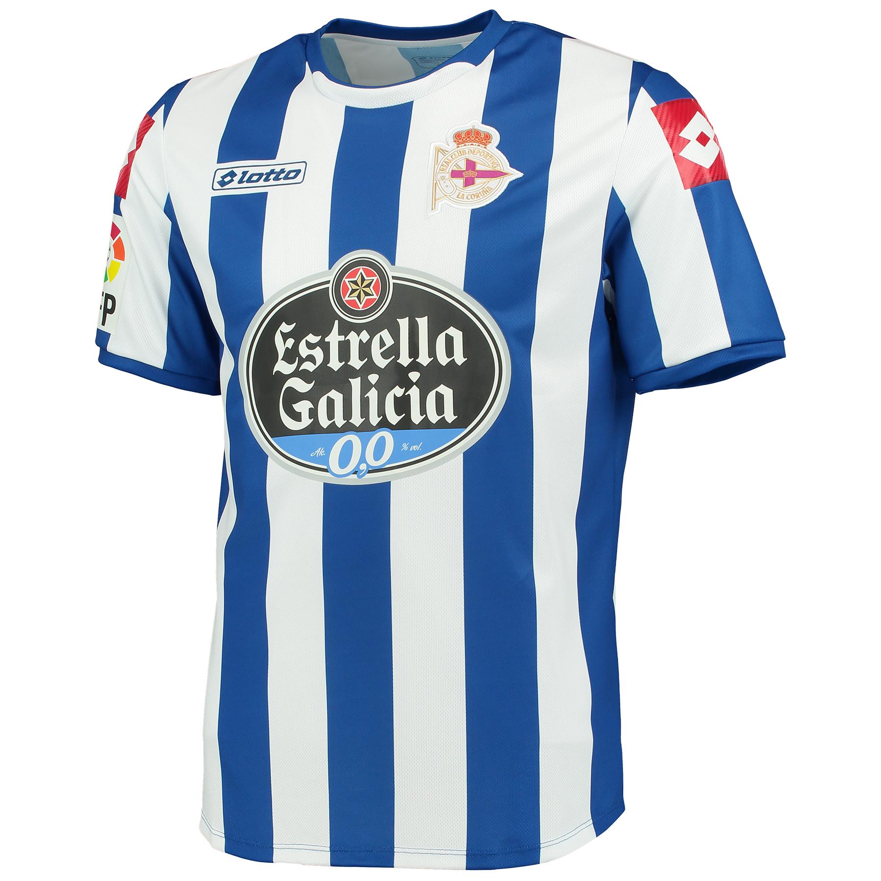 Deportivo La Coruna Home Shirt 2014/15 Blue