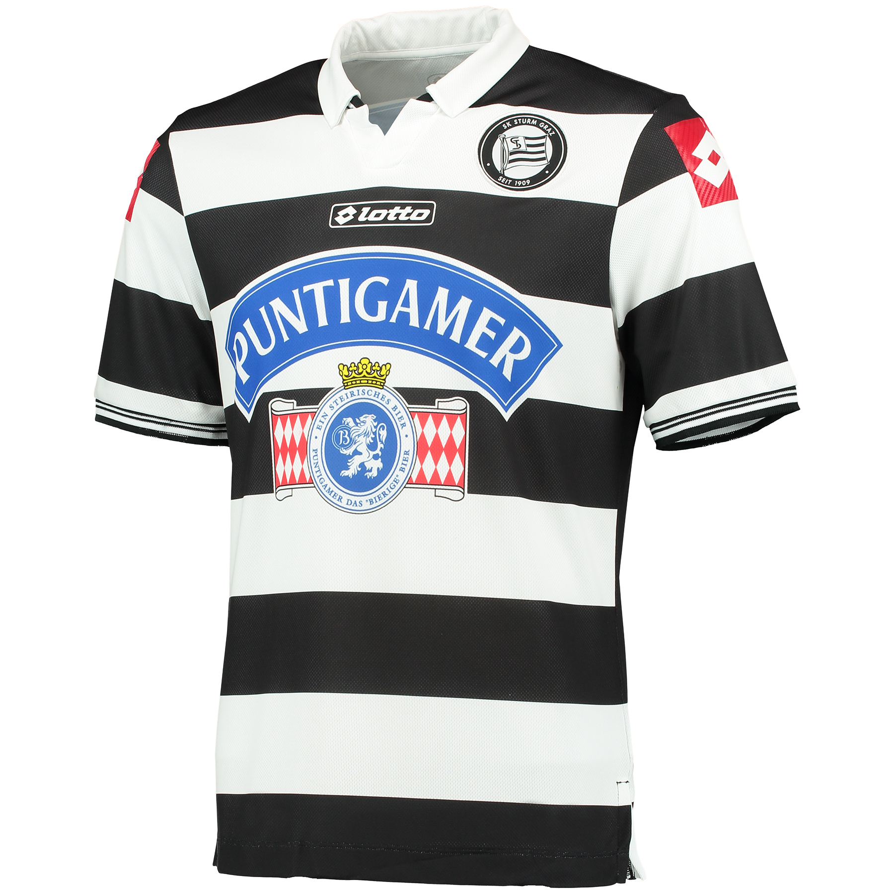 Sturm Graz Home Shirt 2014/15 Red