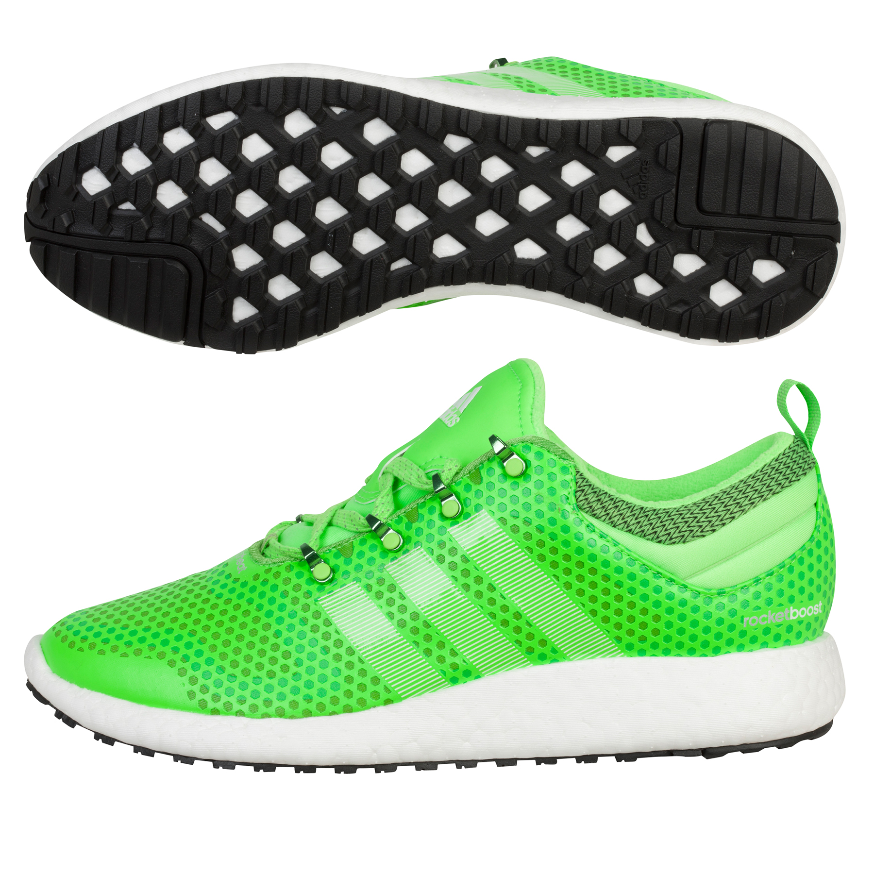 Adidas Climaheat Rocket Boost Trainers Lt Green