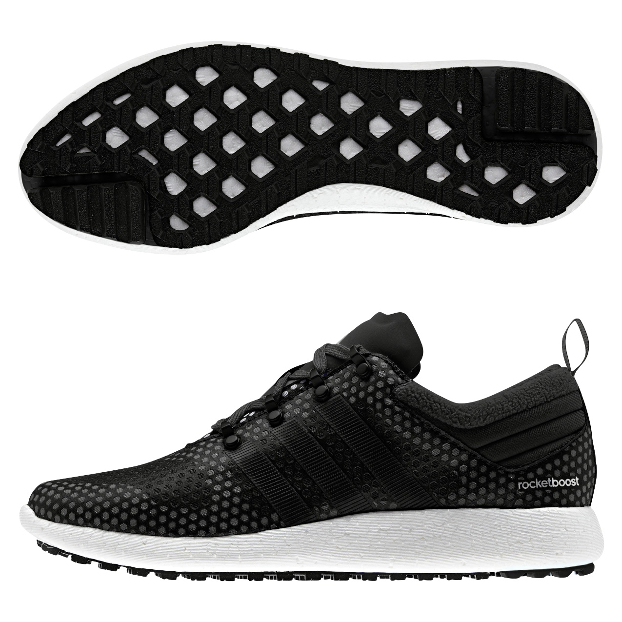Adidas Climaheat Rocket Boost Trainers Black
