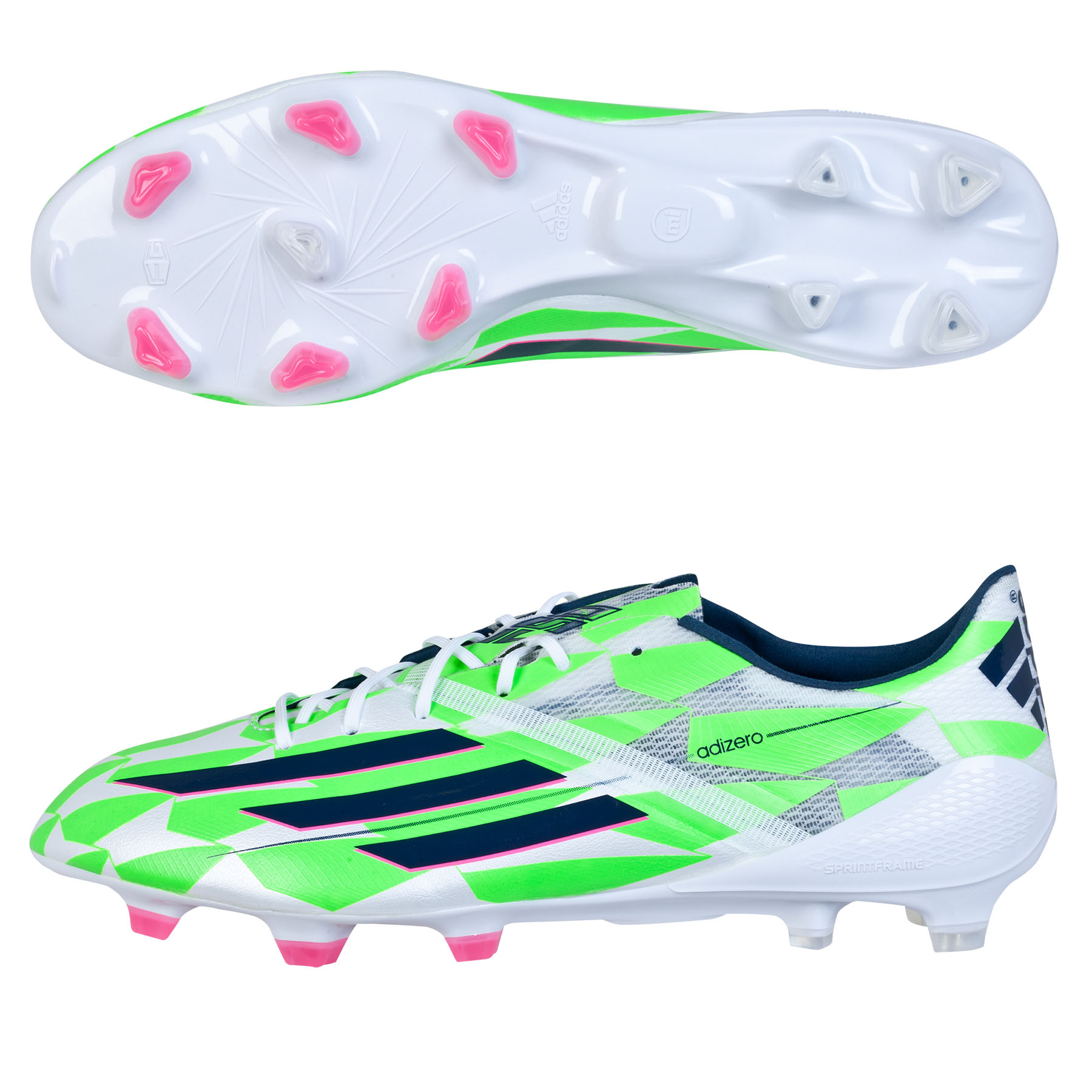 F50 adizero FG White Supernatural