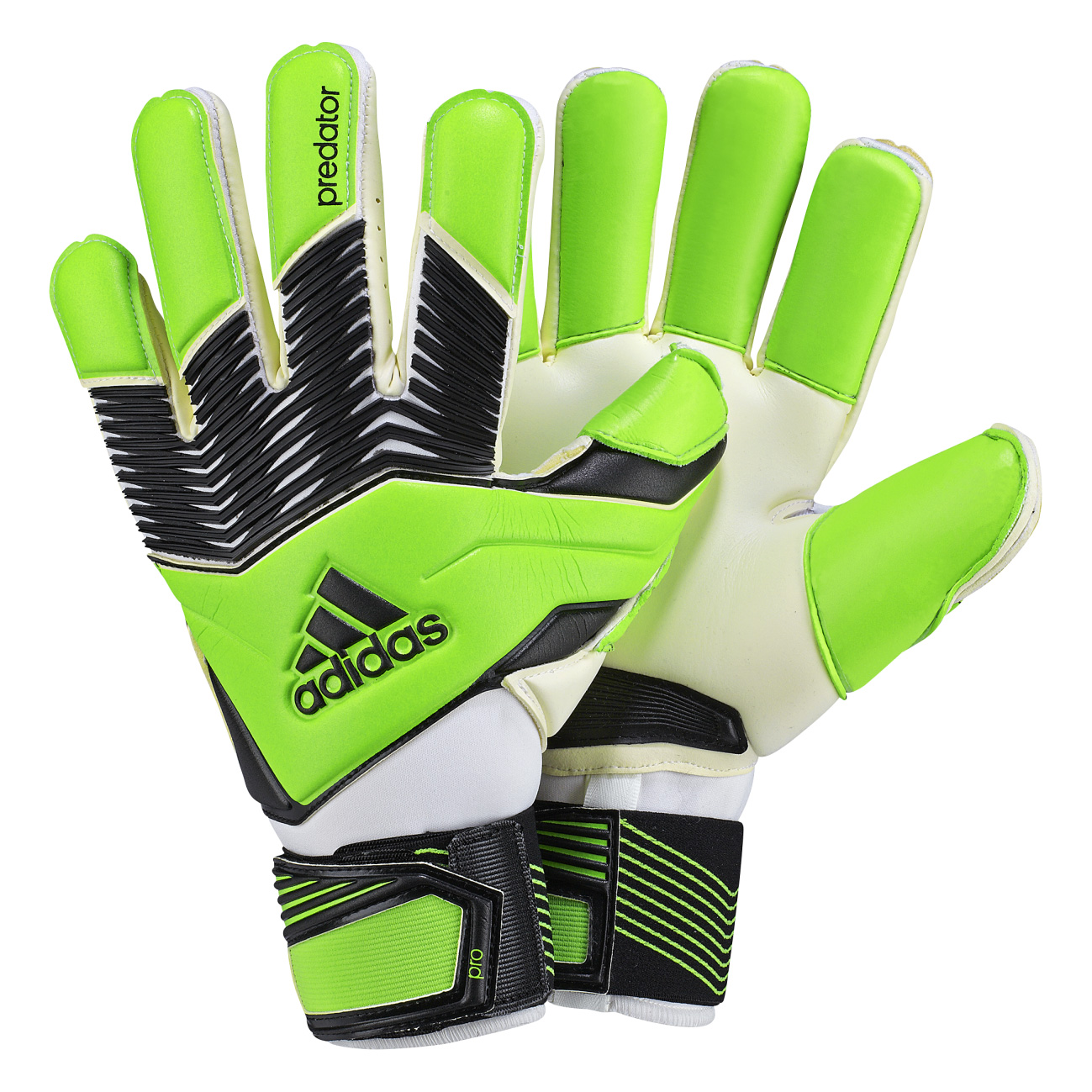 Adidas Pred Zones Pro Goalkeepers Gloves Green
