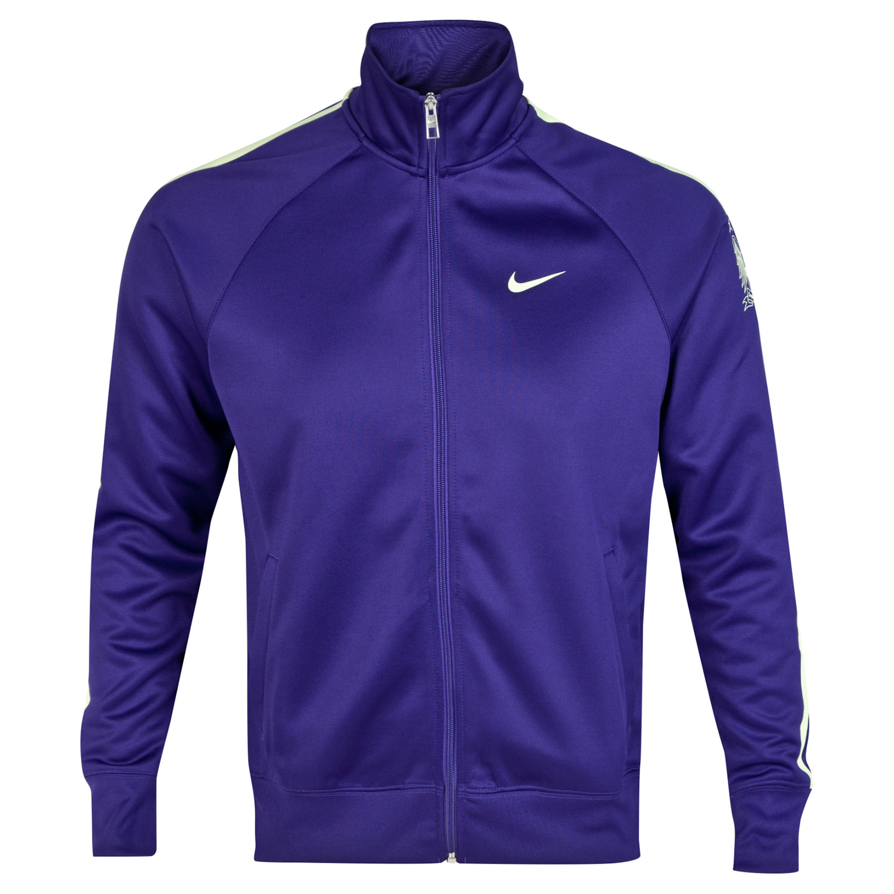 Manchester City Core Trainer Jacket Purple