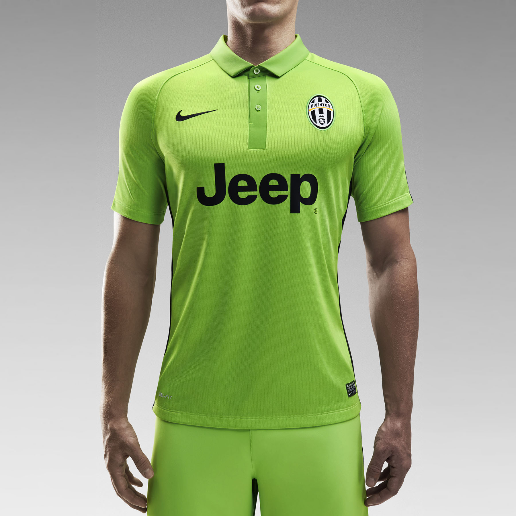 Juventus Third Shirt 2014/15 Green