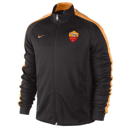 AS Roma Authentic N98 Jacket Dk Brown