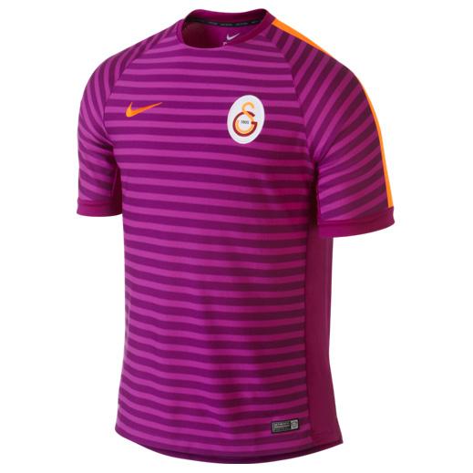 Galatasaray Squad Short Sleeve Training Top Purple