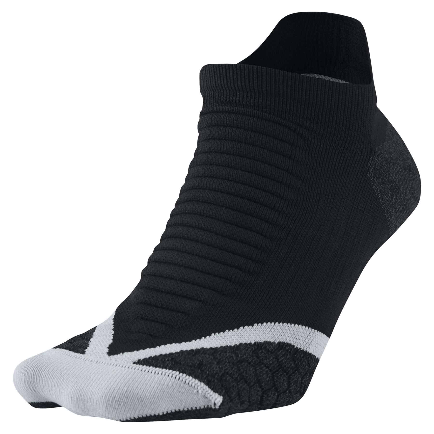 Nike Elite Running Cushion Sock Black