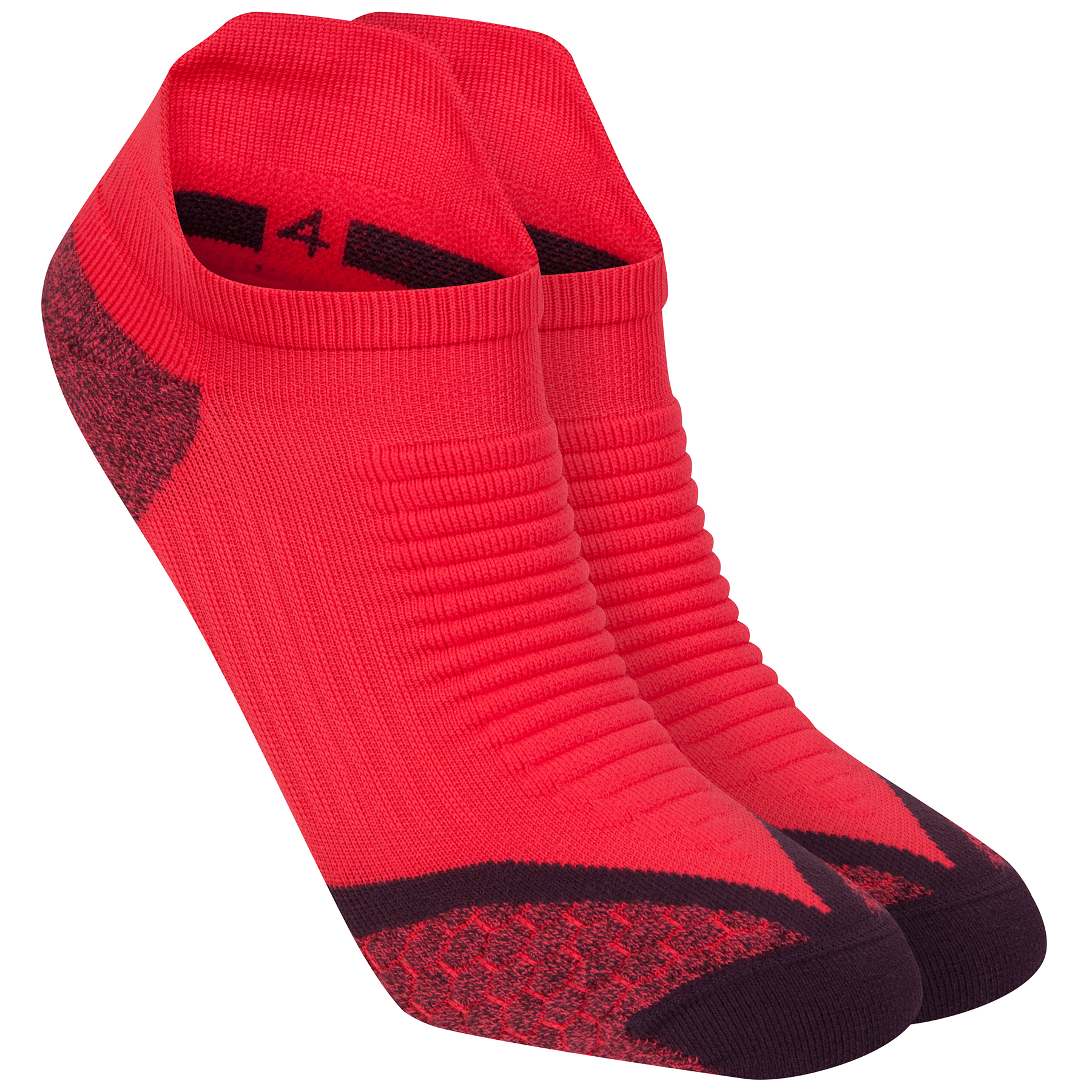 Nike Elite Running Cushion Sock Red