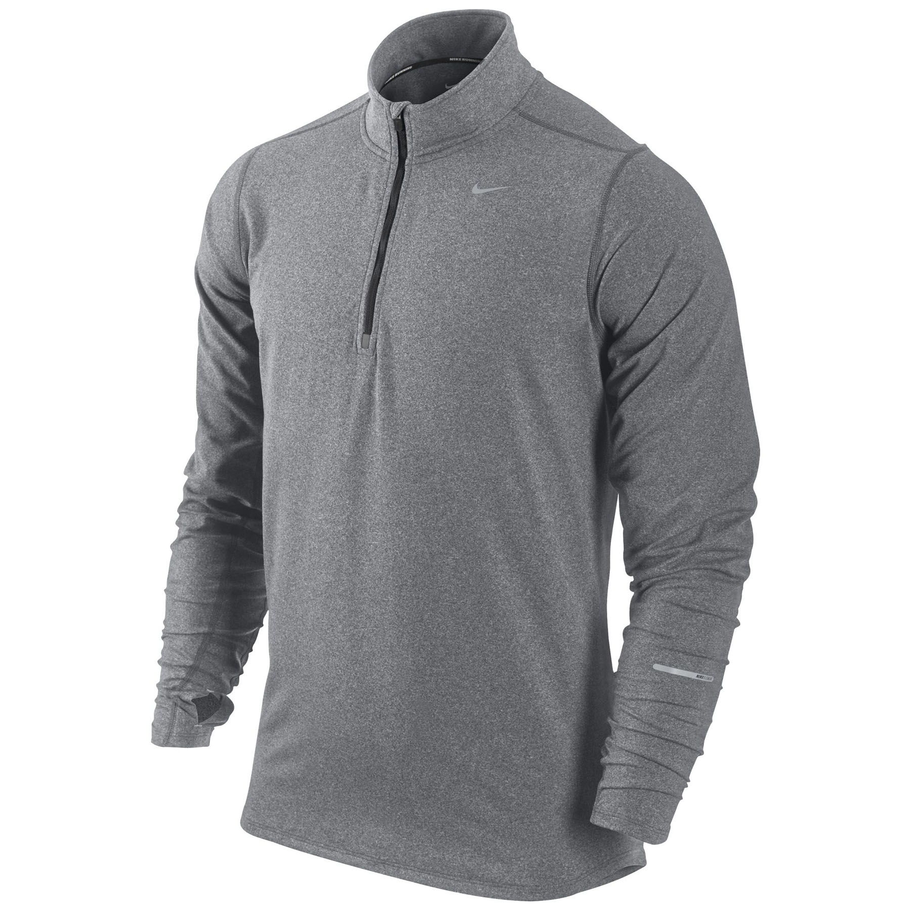 Nike Element Half Zip Top Dk Grey