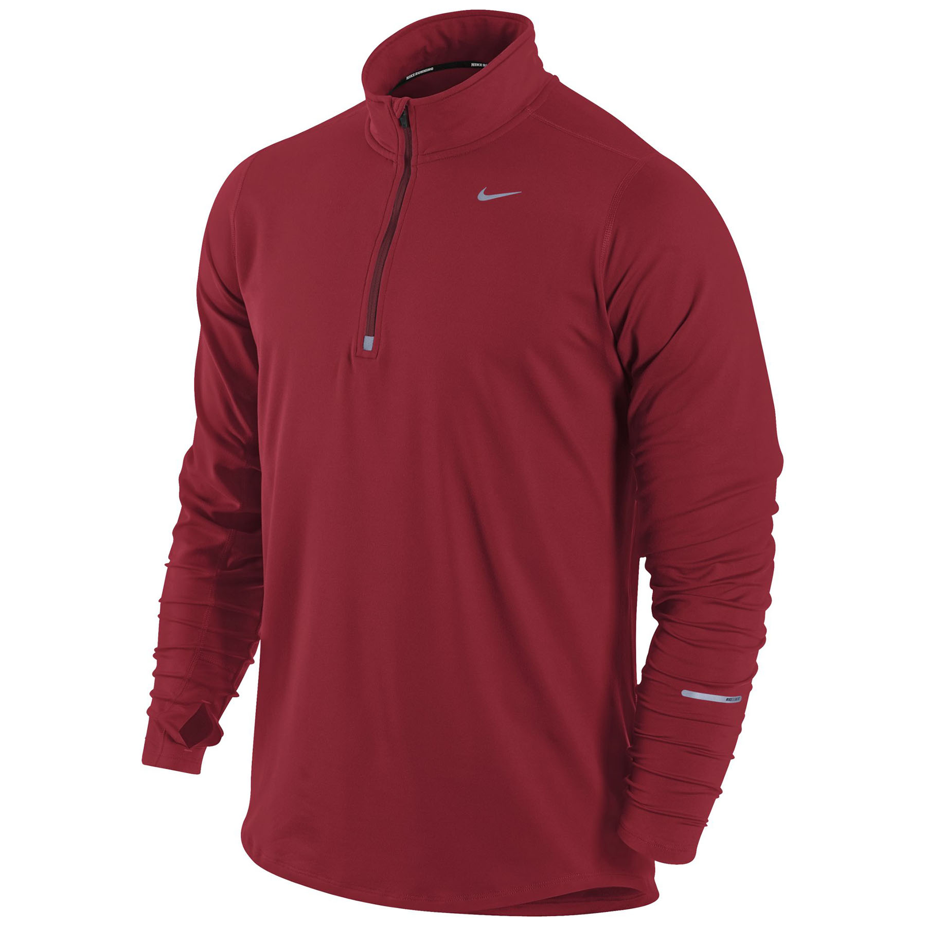 Nike Element Half Zip Top Red