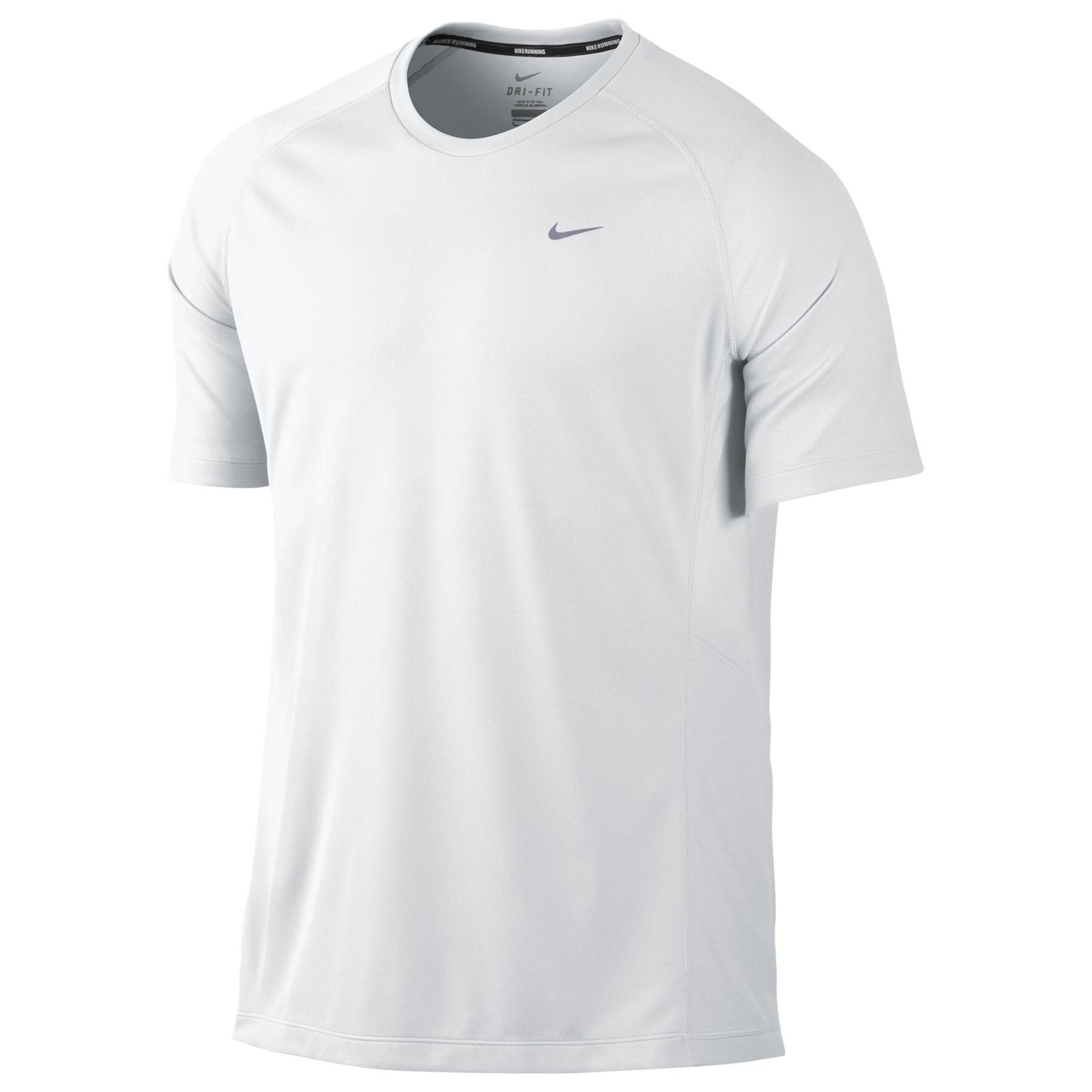 Nike Miler T-Shirt White