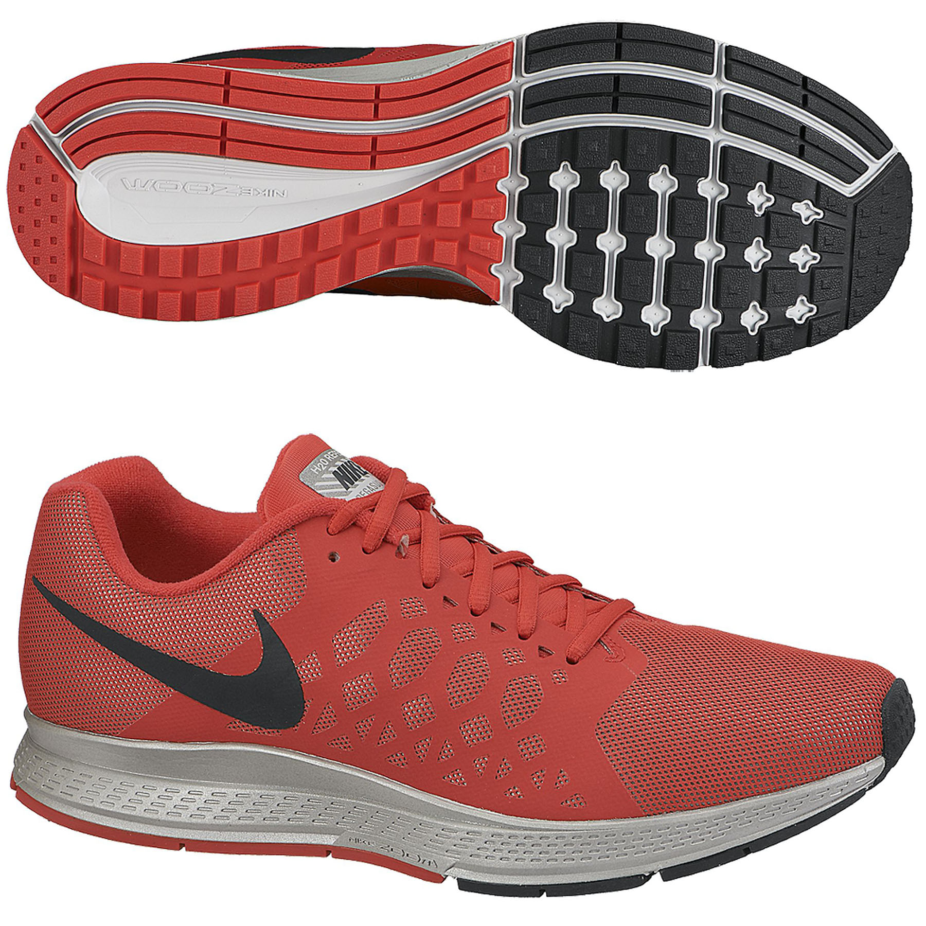 Nike Zoom Pegasus 31 Flash Trainers Red