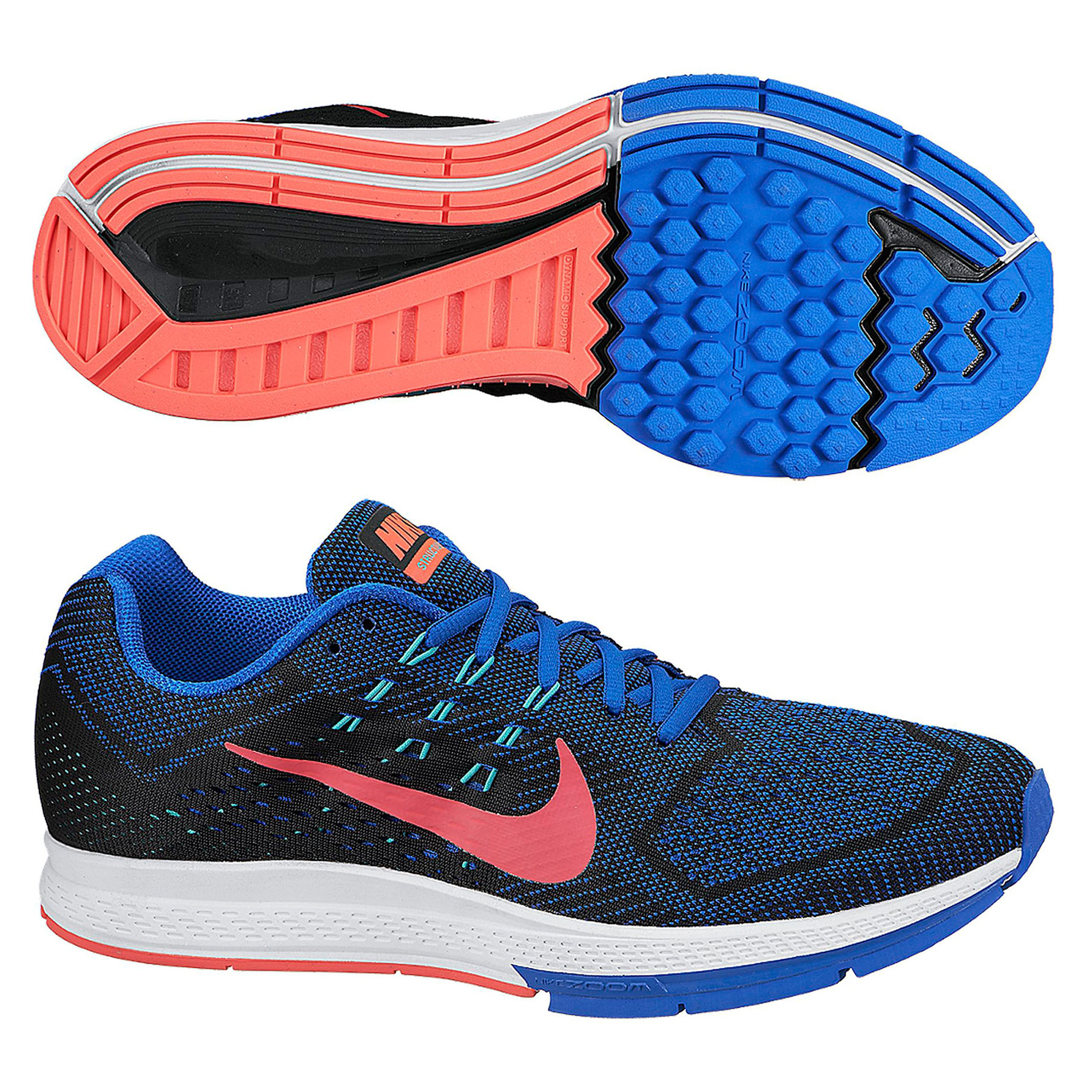 Nike Zoom Structure 18 Trainers Navy