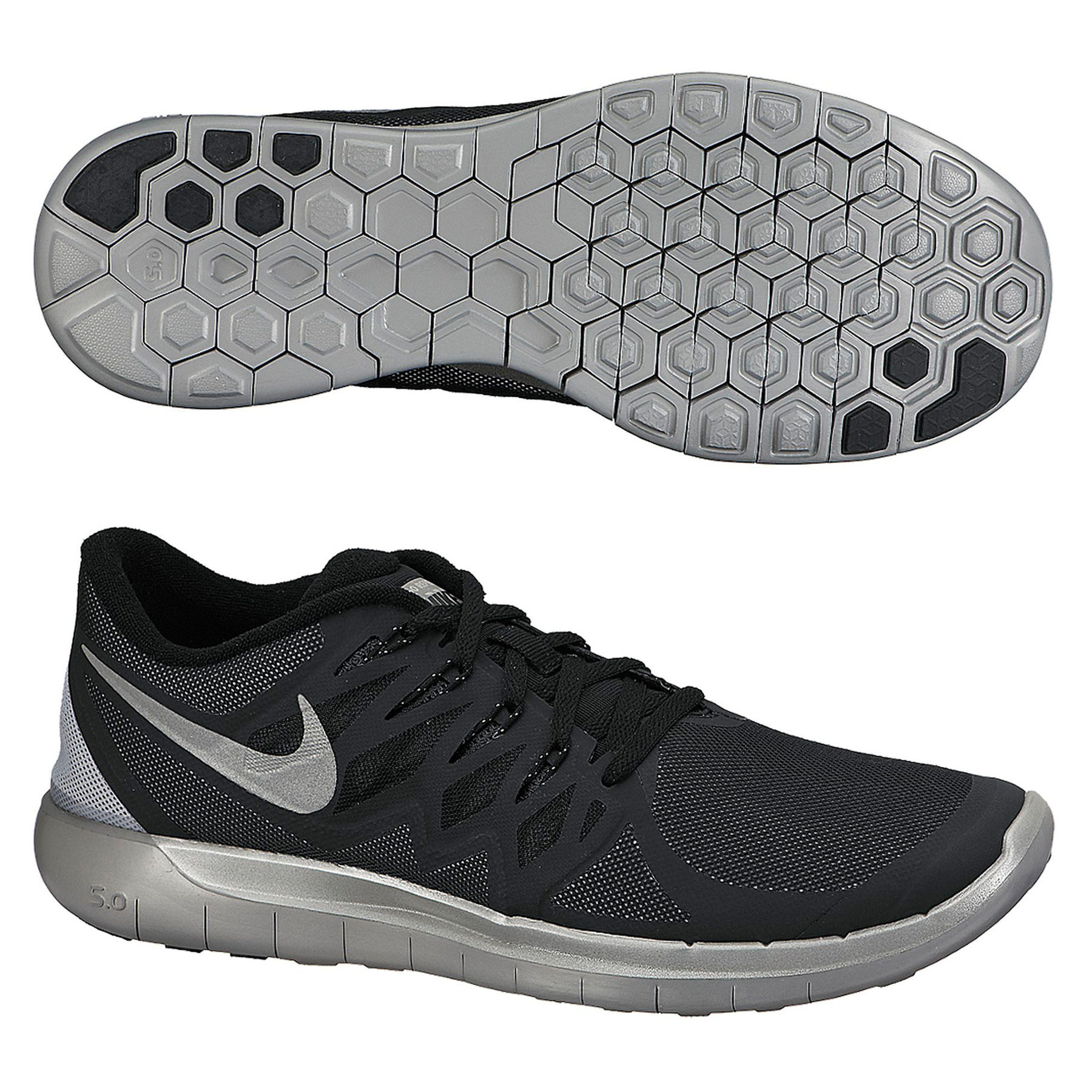 Nike Free 5.0 Flash Trainers Black
