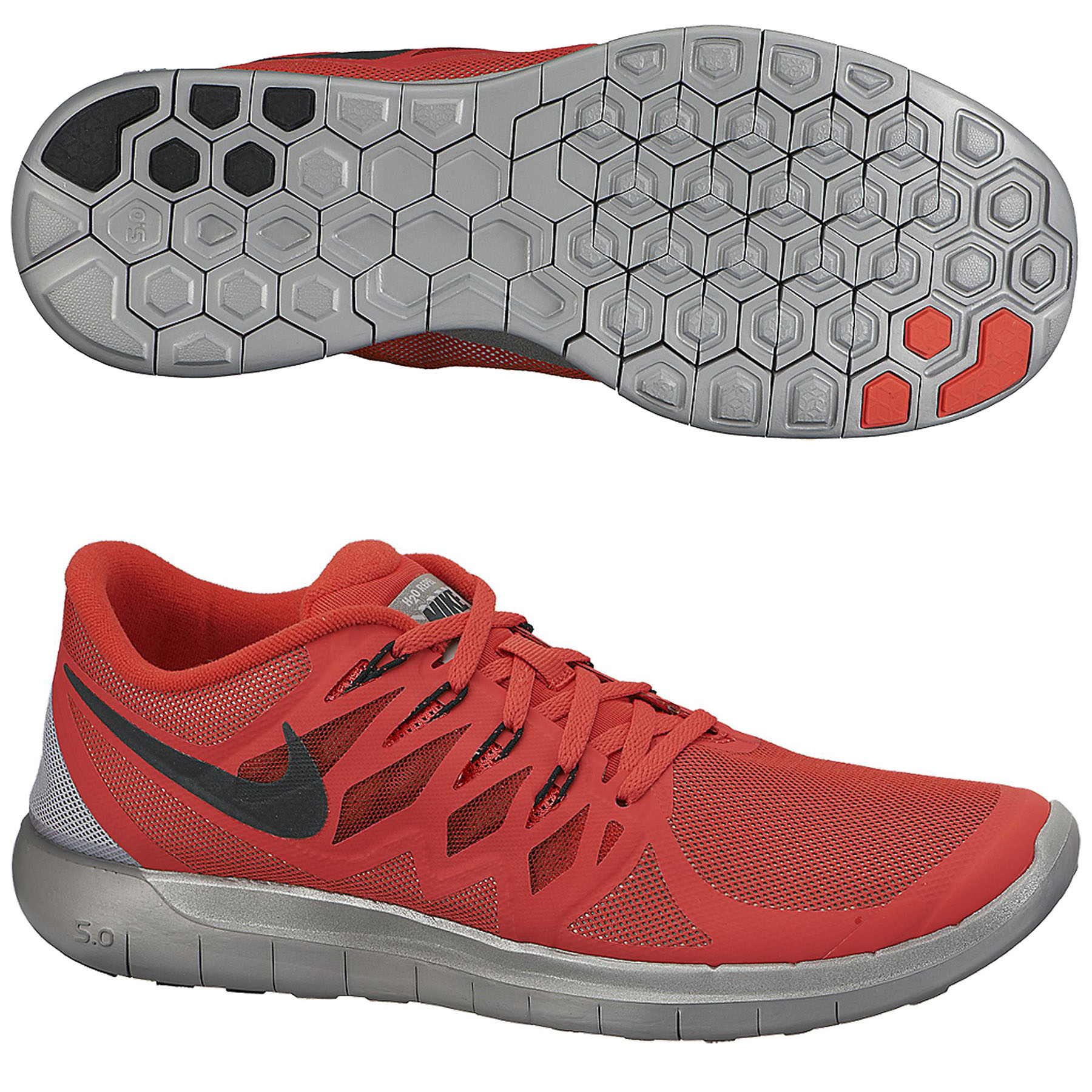 Nike Free 5.0 Flash Trainers Red