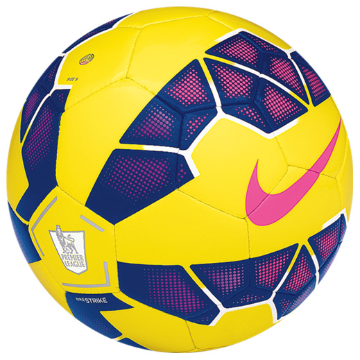 Nike Strike Premier League Hi-Vis Football Yellow