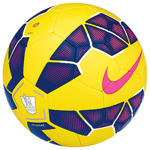 Nike Skills Premier League Hi-Vis Football Yellow