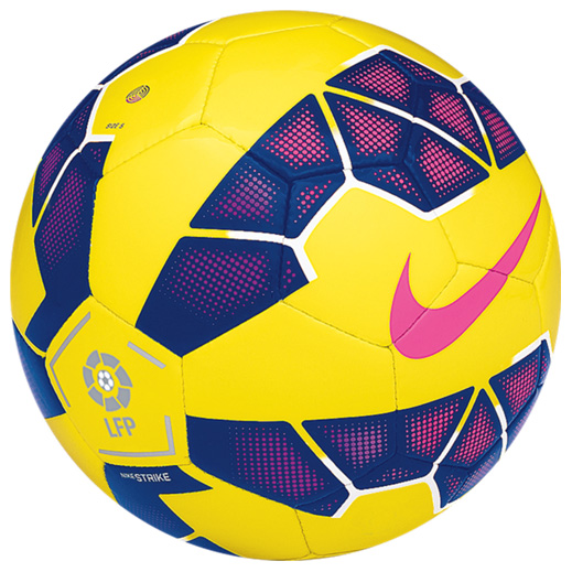 Nike Strike La Liga Hi-Vis Football Yellow