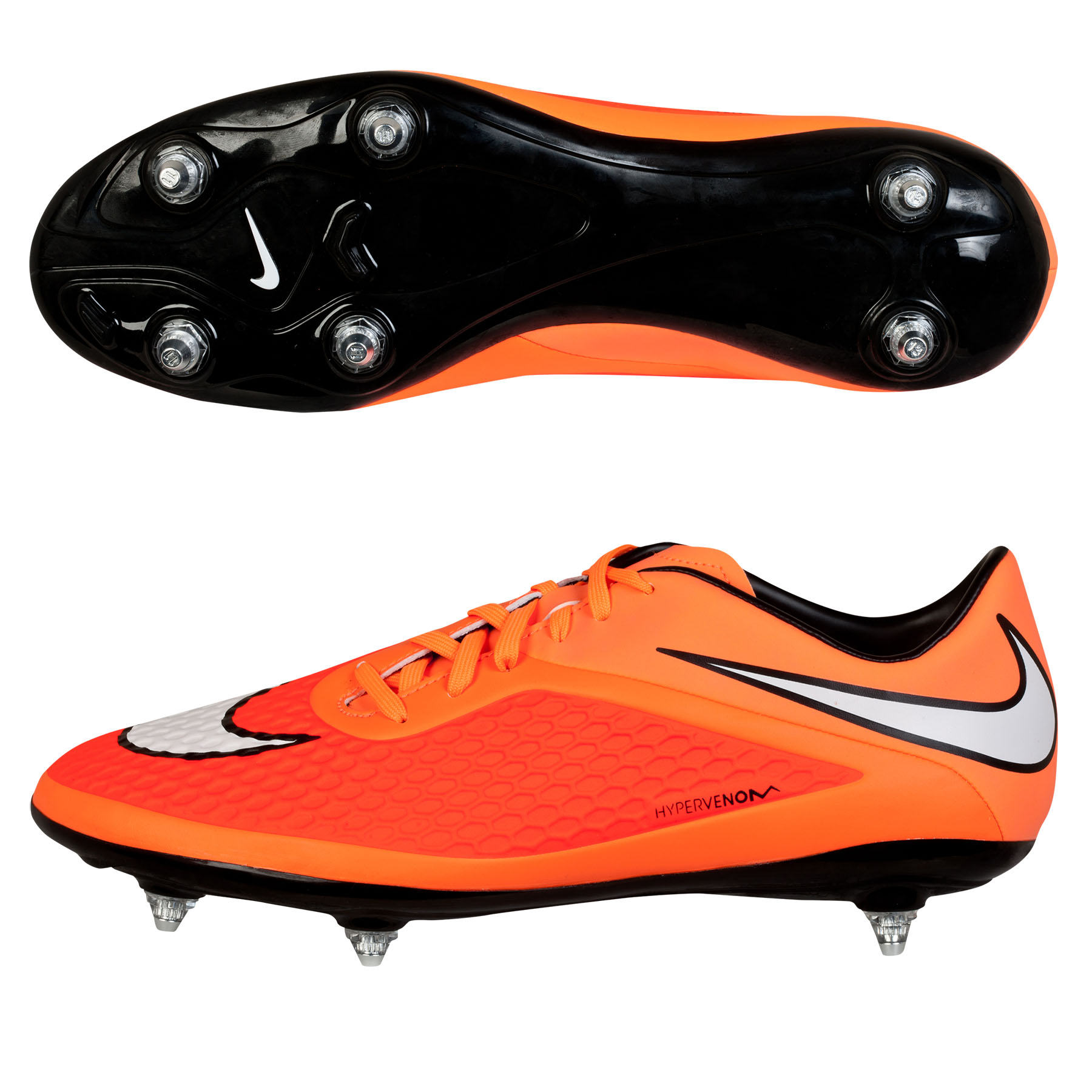 Nike Hypervenom Phelon Soft Ground Football Boots Orange